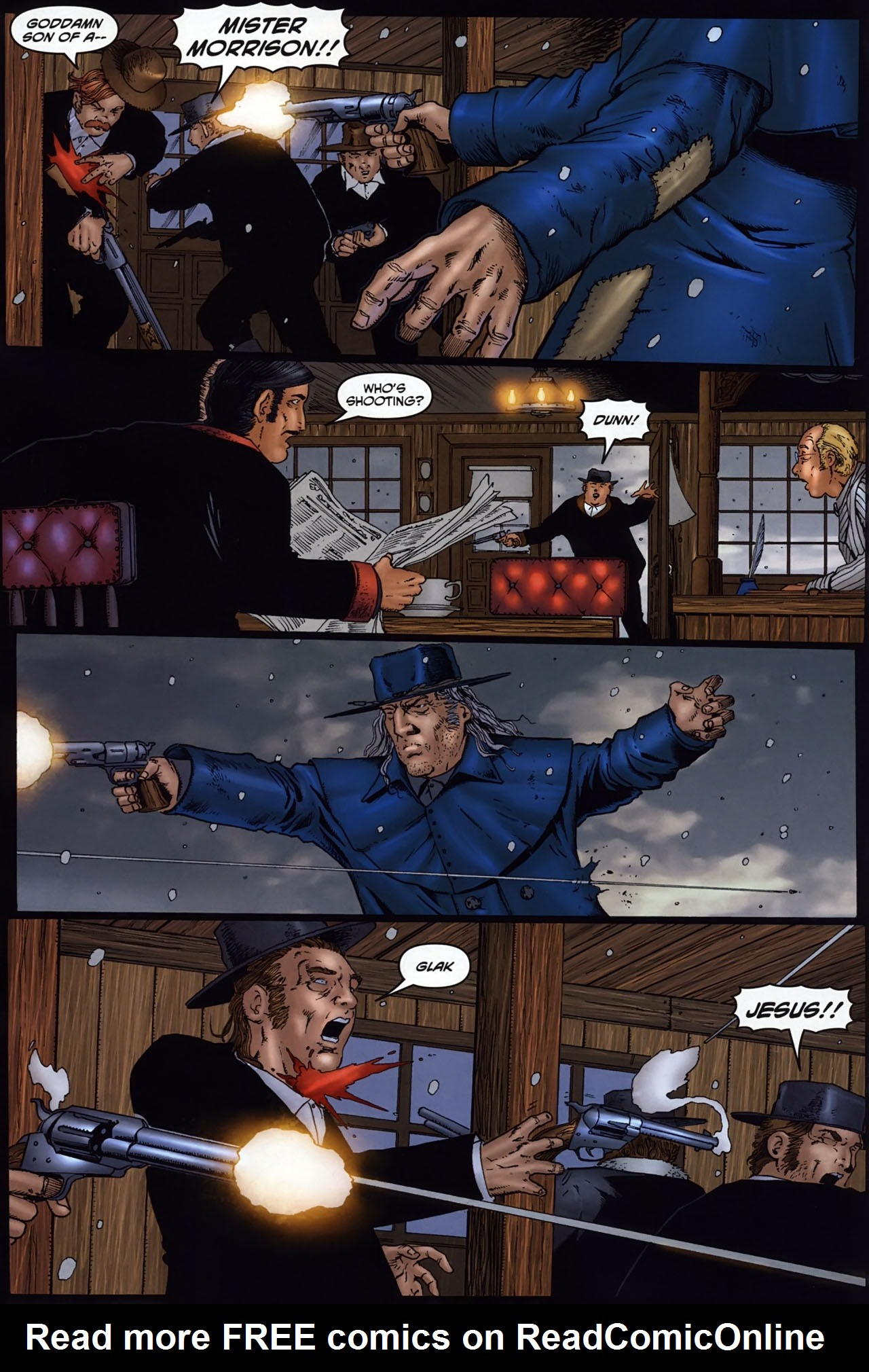 Read online Garth Ennis' Streets of Glory comic -  Issue #6 - 19