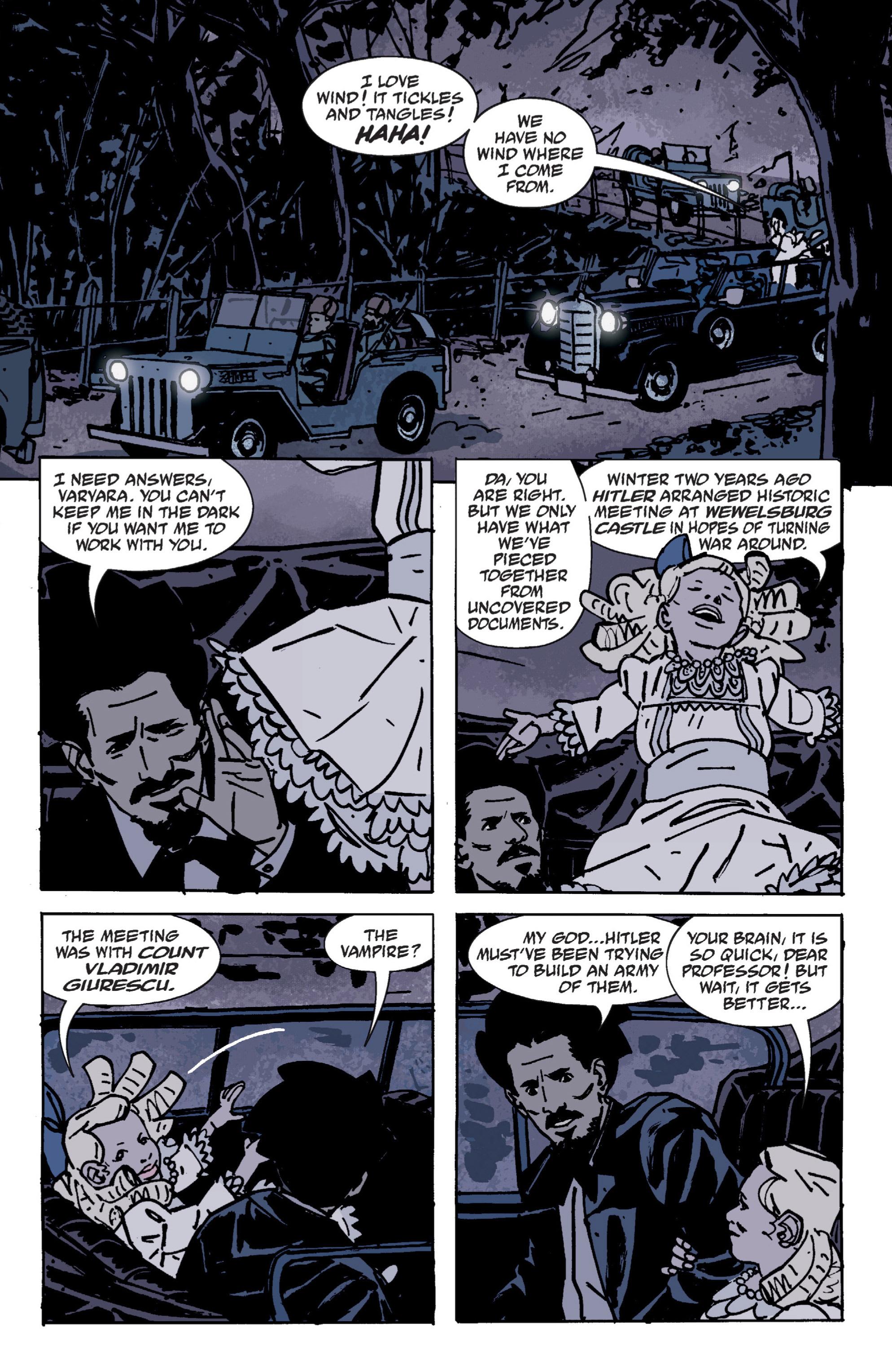 Read online B.P.R.D. (2003) comic -  Issue # TPB 9 - 51
