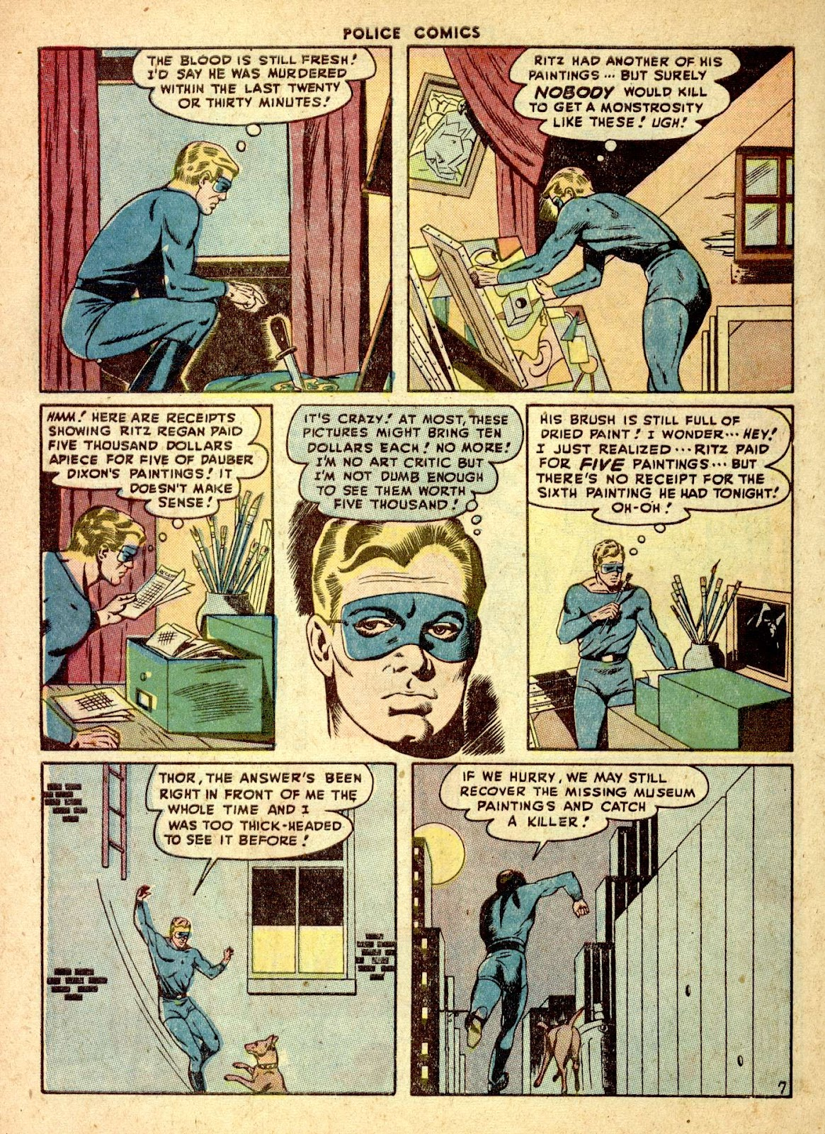 Police Comics issue 76 - Page 48