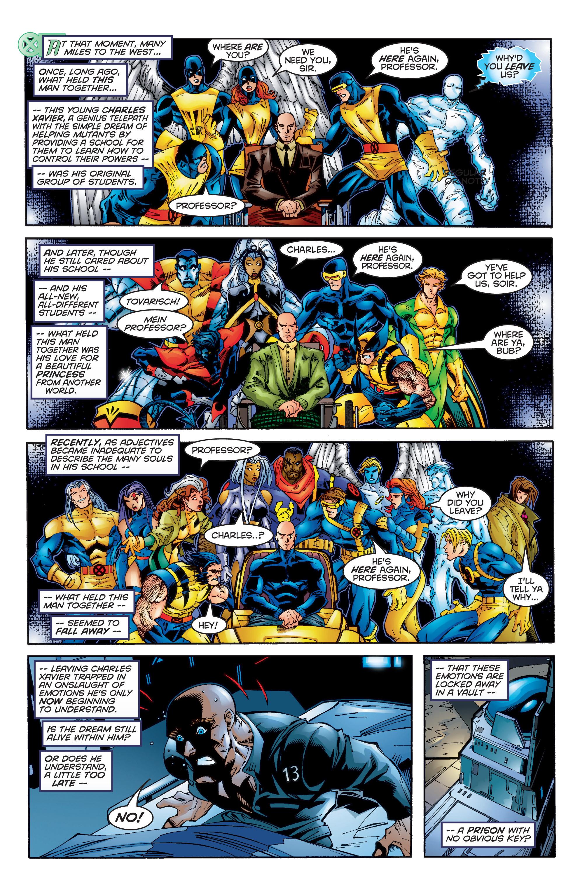Read online Uncanny X-Men (1963) comic -  Issue #350 - 15