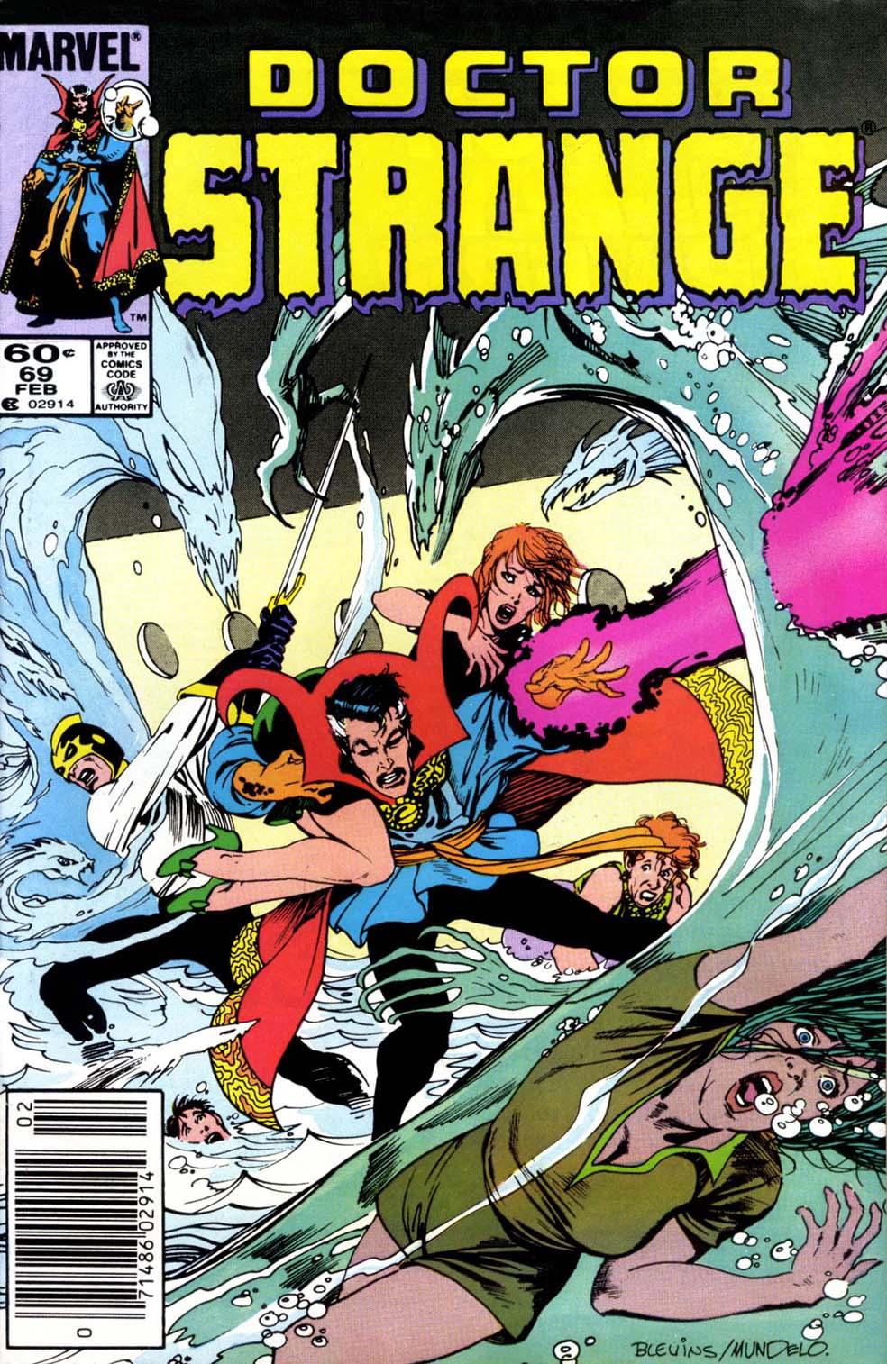 Doctor Strange (1974) 69 Page 1
