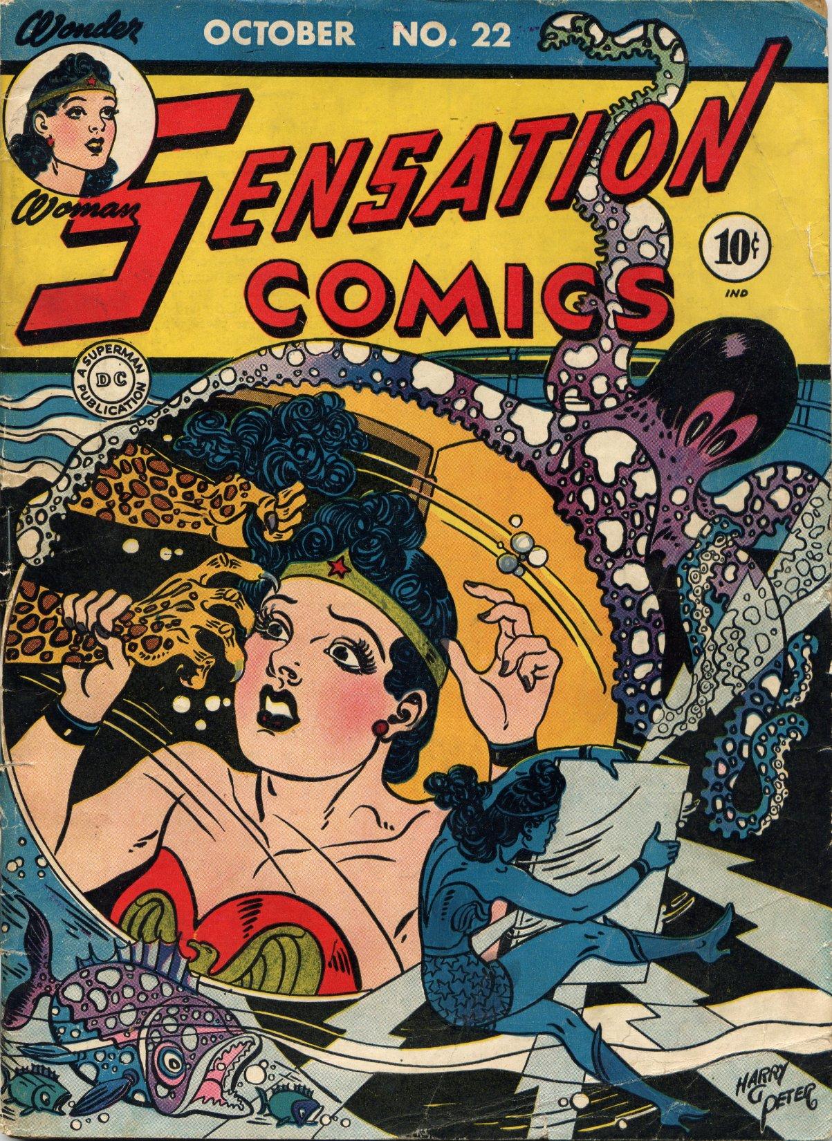 Read online Sensation (Mystery) Comics comic -  Issue #22 - 1
