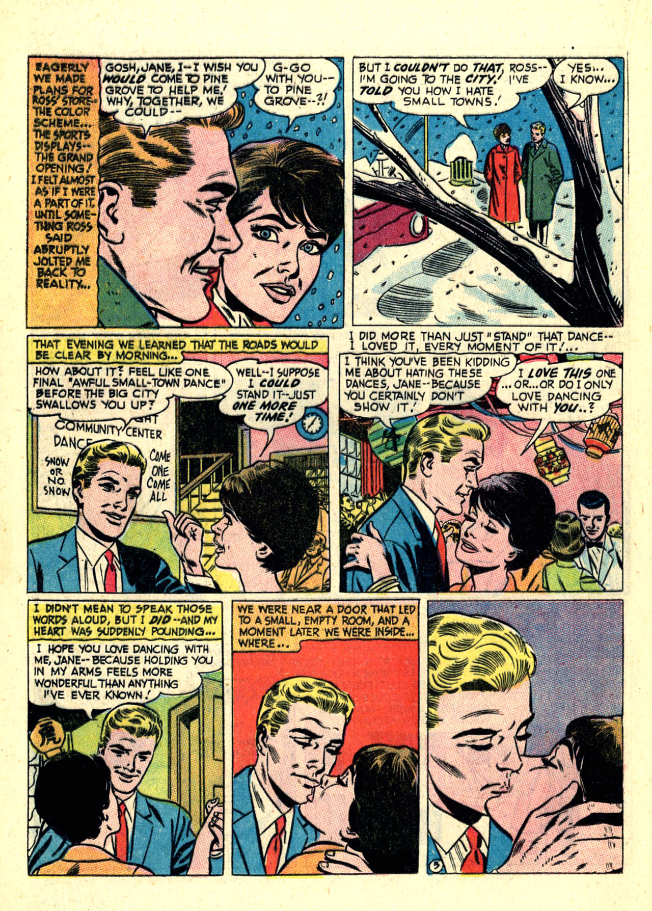 Read online Secret Hearts comic -  Issue #121 - 16