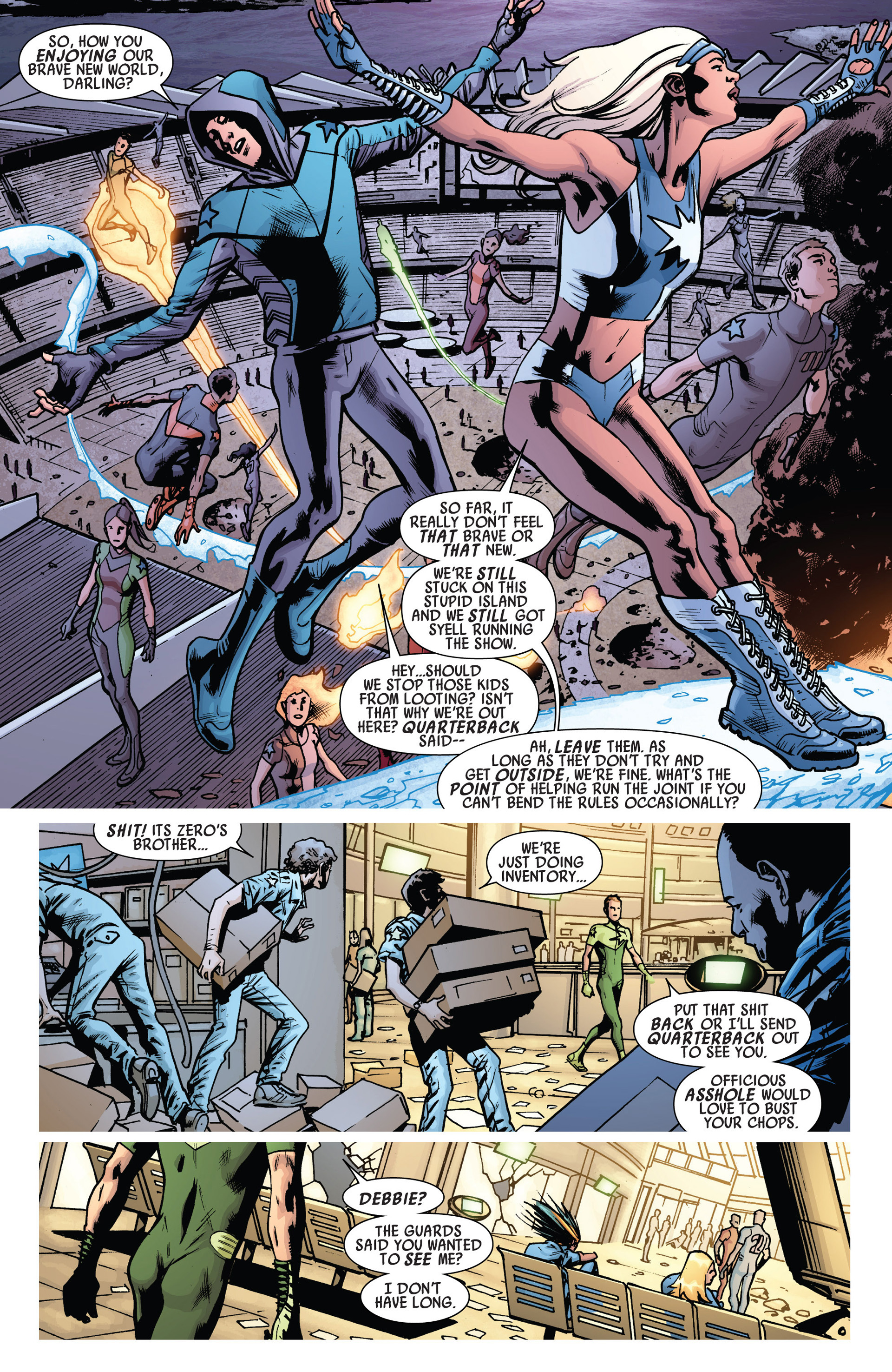 Read online America's Got Powers comic -  Issue #6 - 10