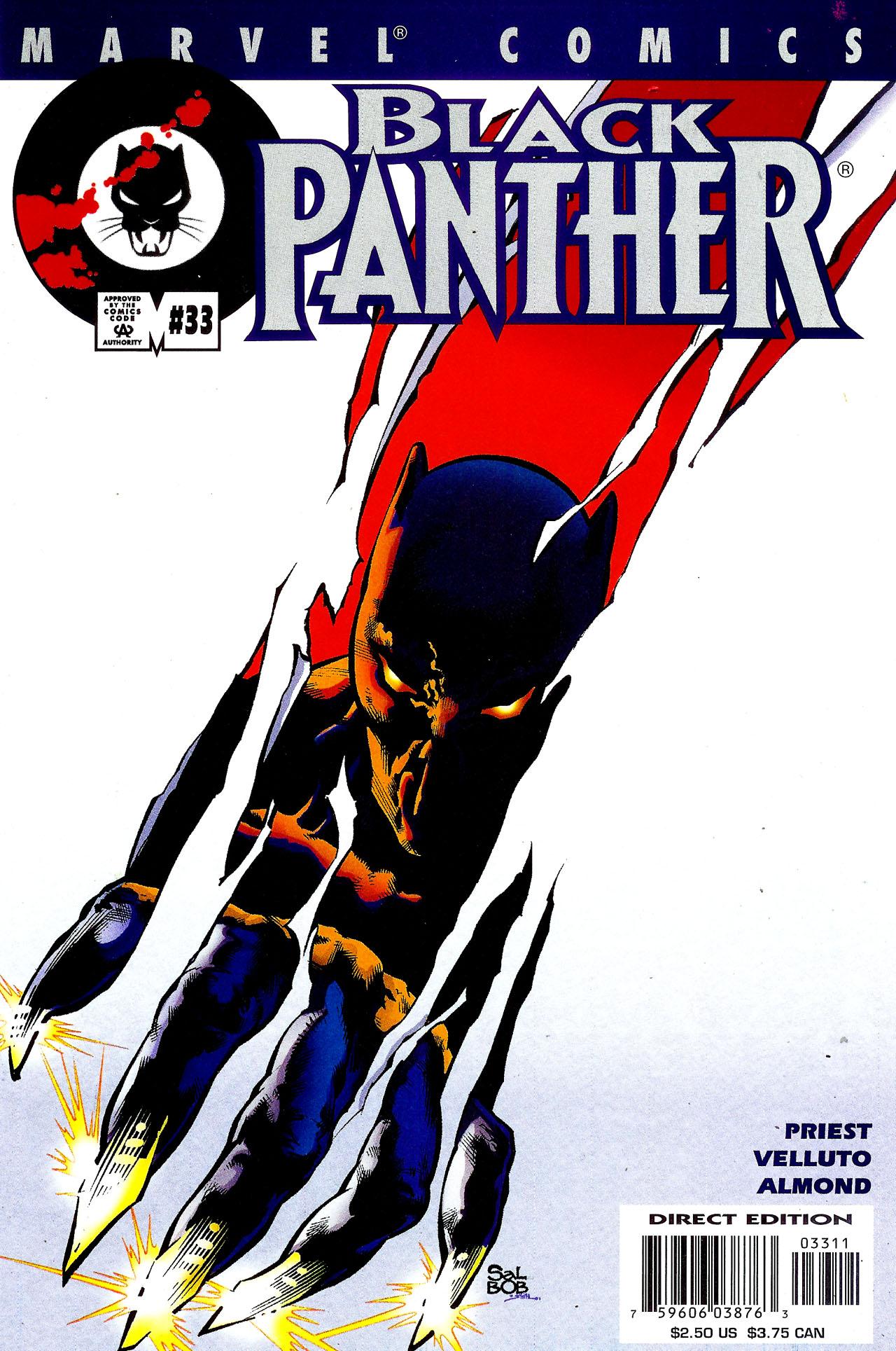 Black Panther (1998) 33 Page 1