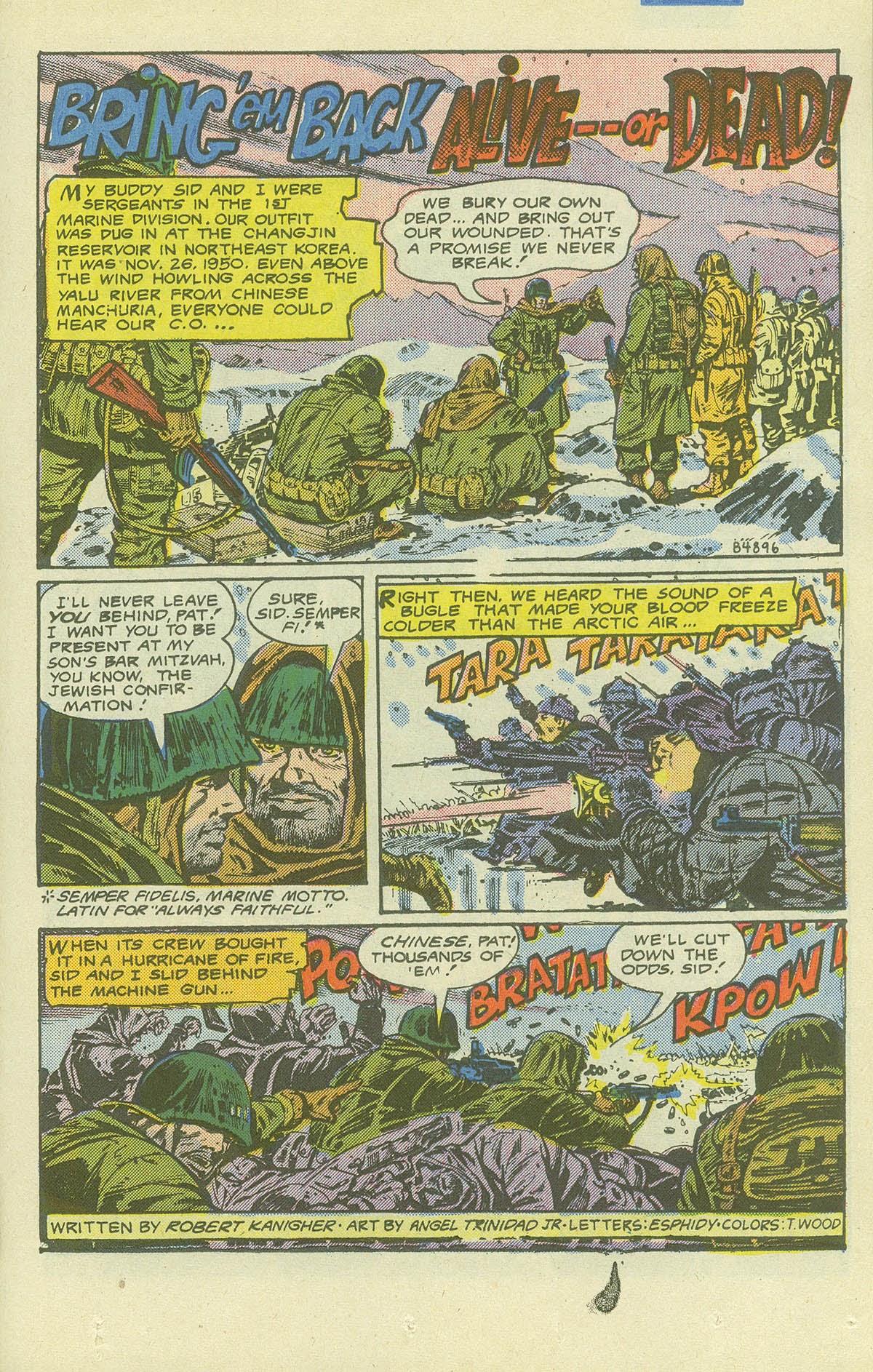 Read online Sgt. Rock comic -  Issue #411 - 24