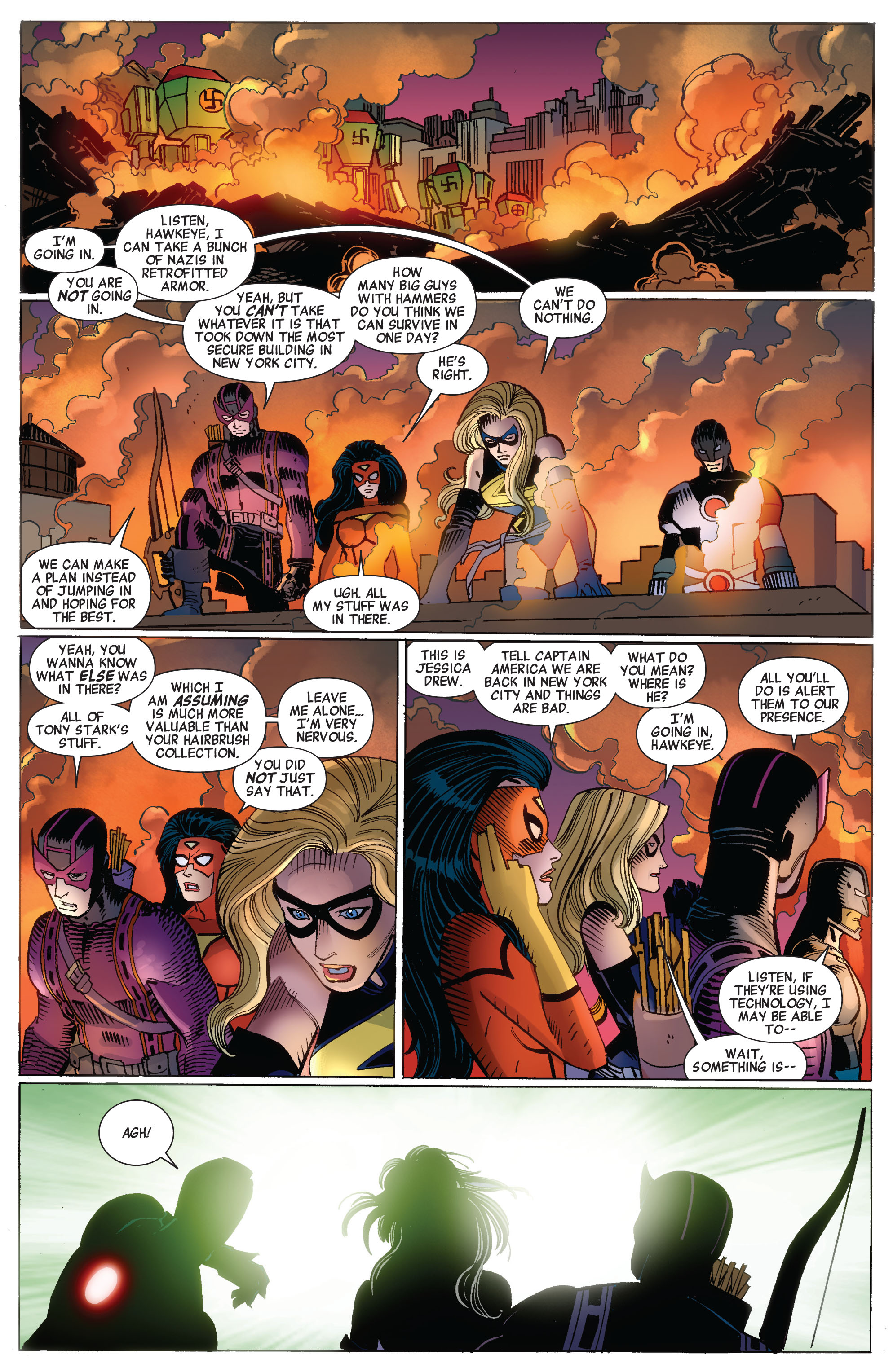 Read online Avengers (2010) comic -  Issue #17 - 5