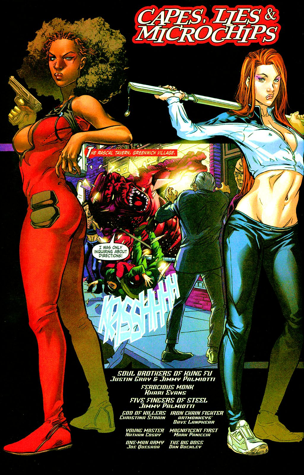 Read online Daughters of the Dragon comic -  Issue #3 - 3