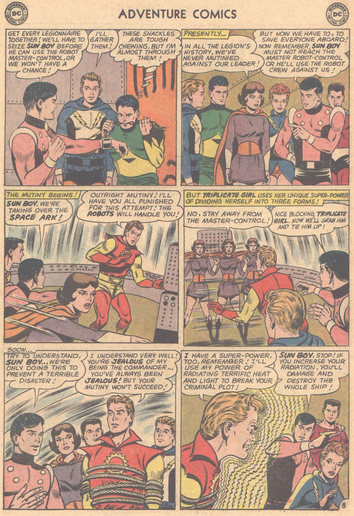 Read online Adventure Comics (1938) comic -  Issue #318 - 10