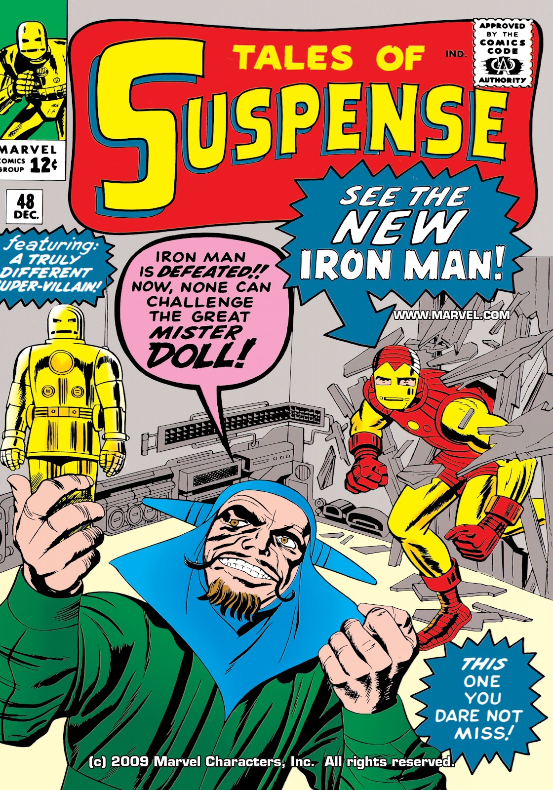 Read online Marvel Masterworks: The Invincible Iron Man comic -  Issue # TPB 1 (Part 2) - 39