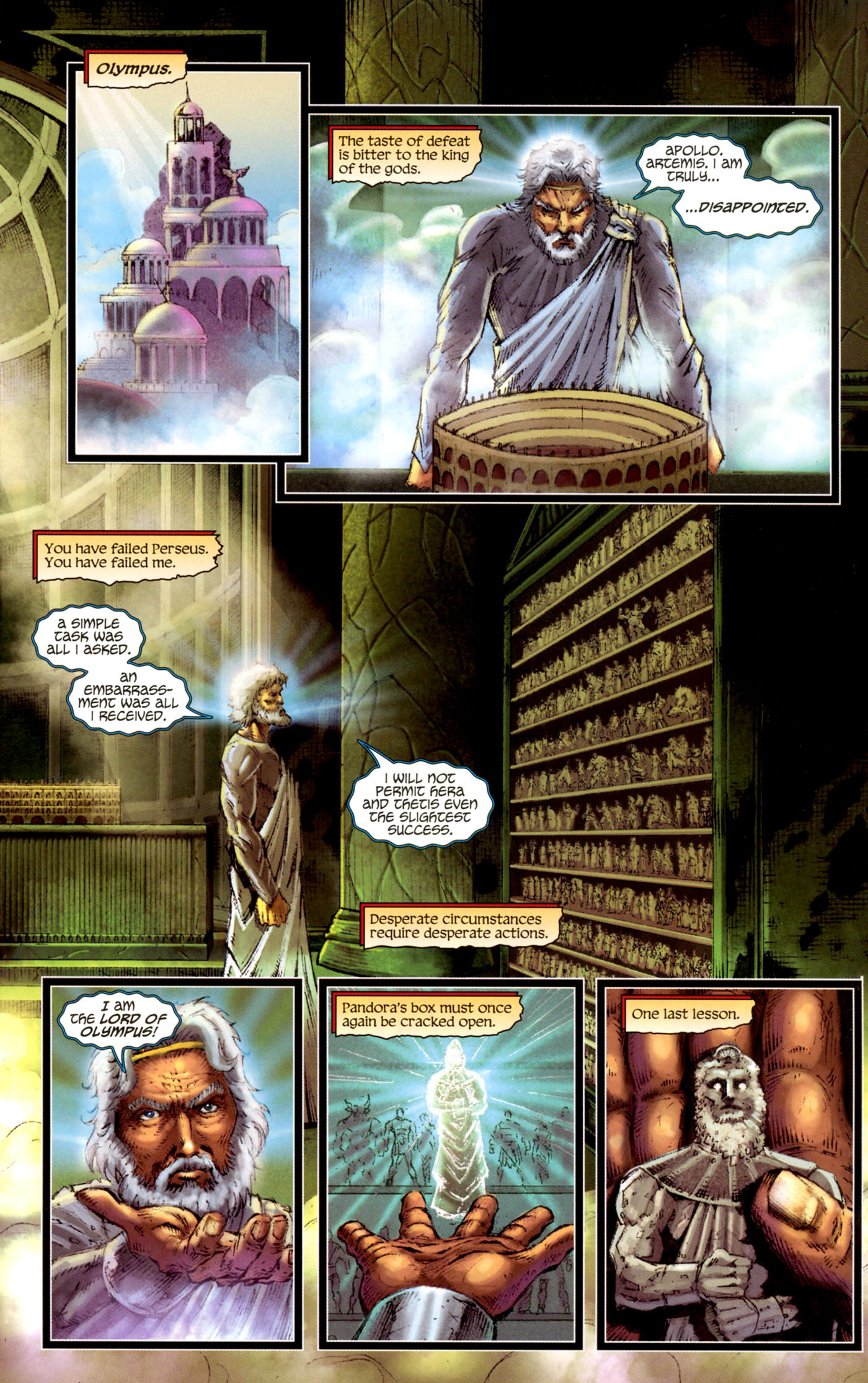 Read online Wrath of the Titans comic -  Issue #4 - 6