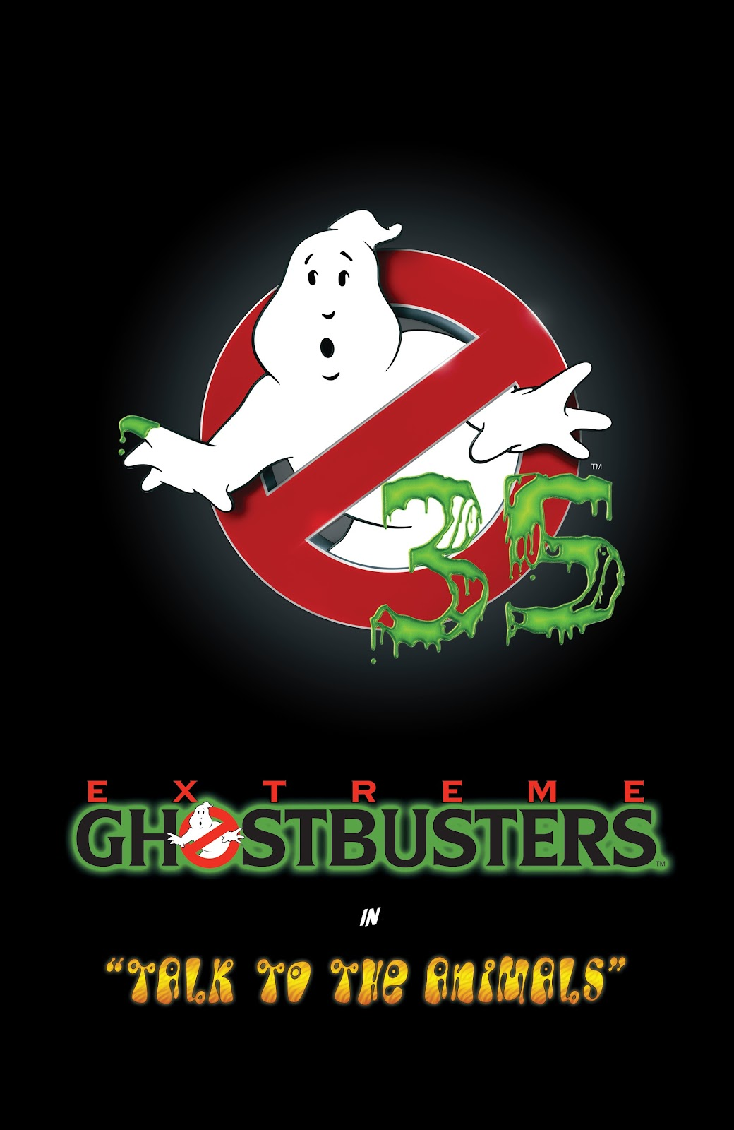 Read online Ghostbusters 35th Anniversary: Extreme comic -  Issue # Full - 3