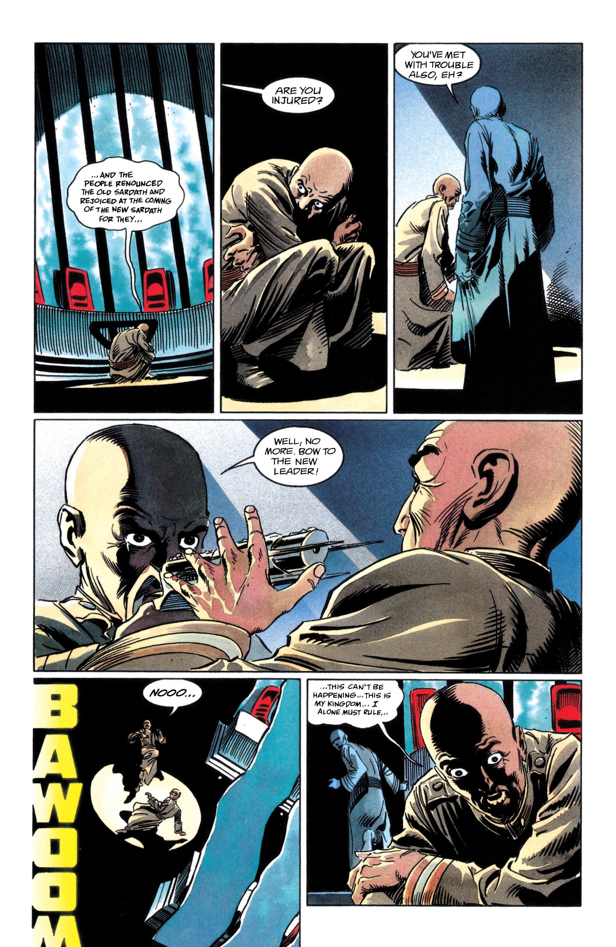 Read online Adam Strange (1990) comic -  Issue #2 - 35