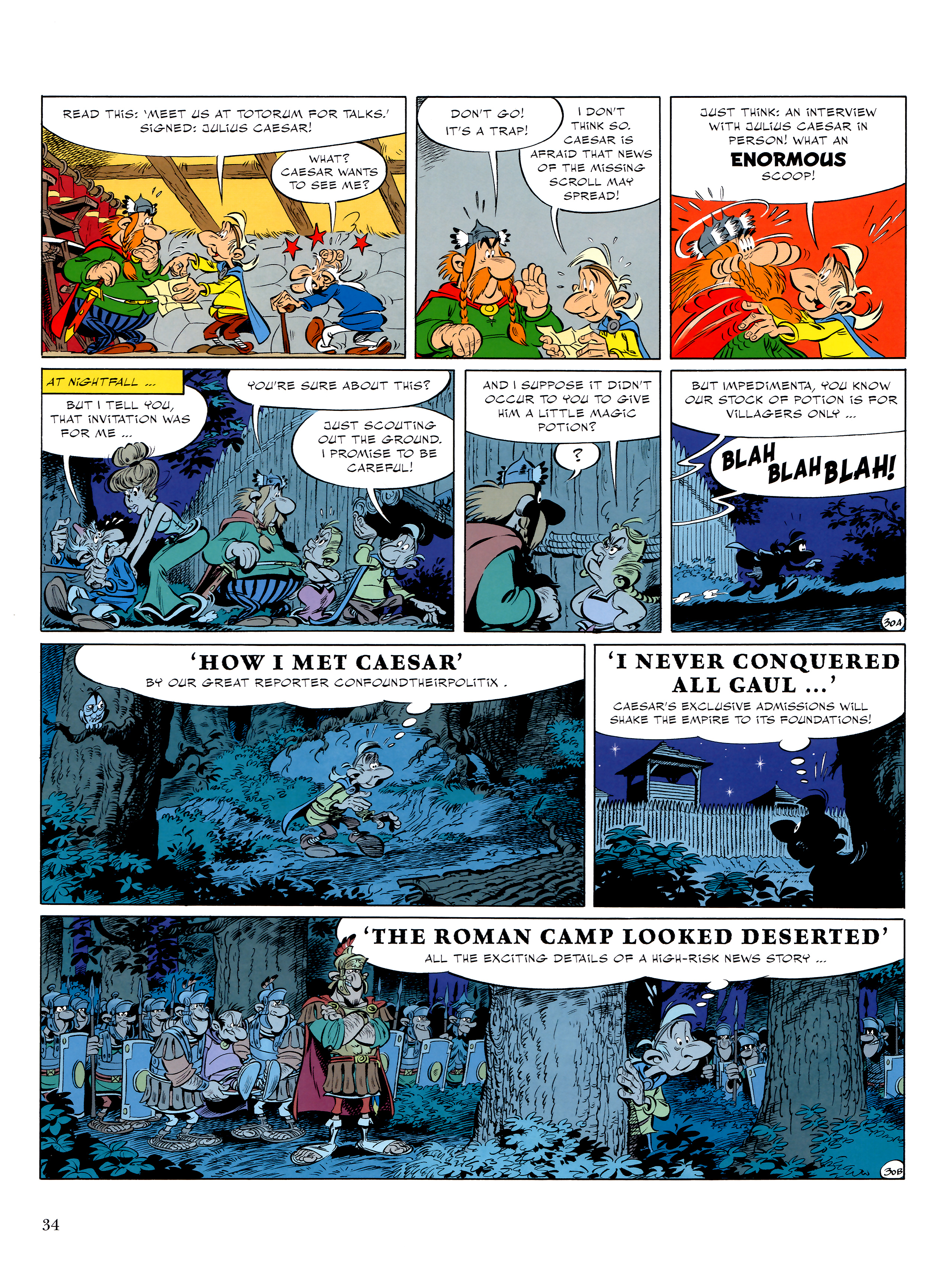 Read online Asterix comic -  Issue #36 - 35
