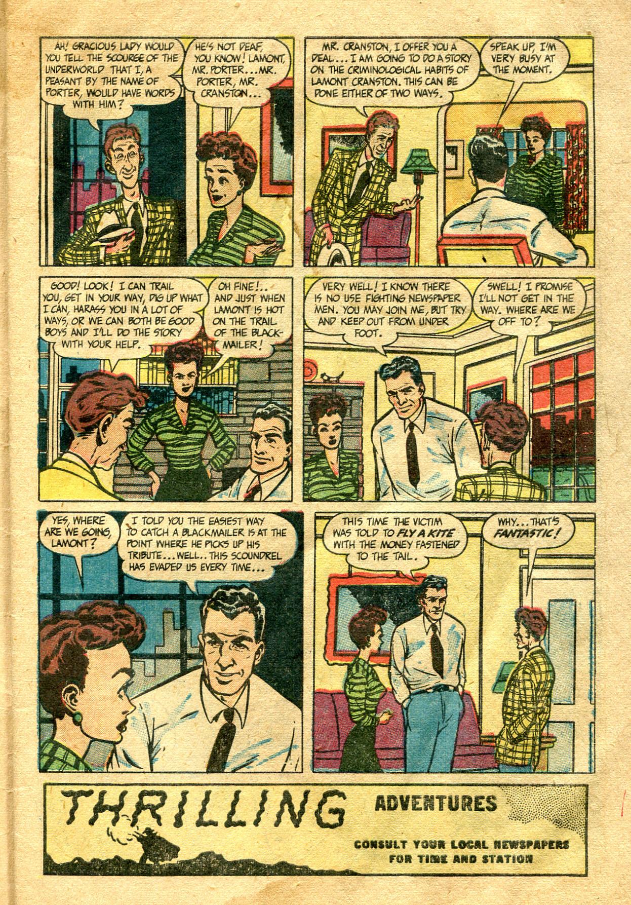 Read online Shadow Comics comic -  Issue #99 - 7