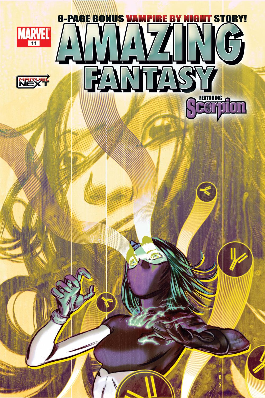 Read online Amazing Fantasy (2004) comic -  Issue #11 - 1