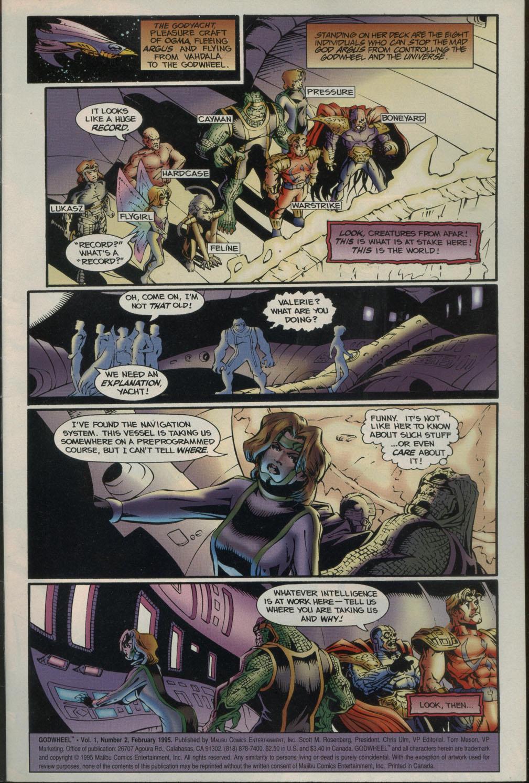 Read online Godwheel comic -  Issue #2 - 4