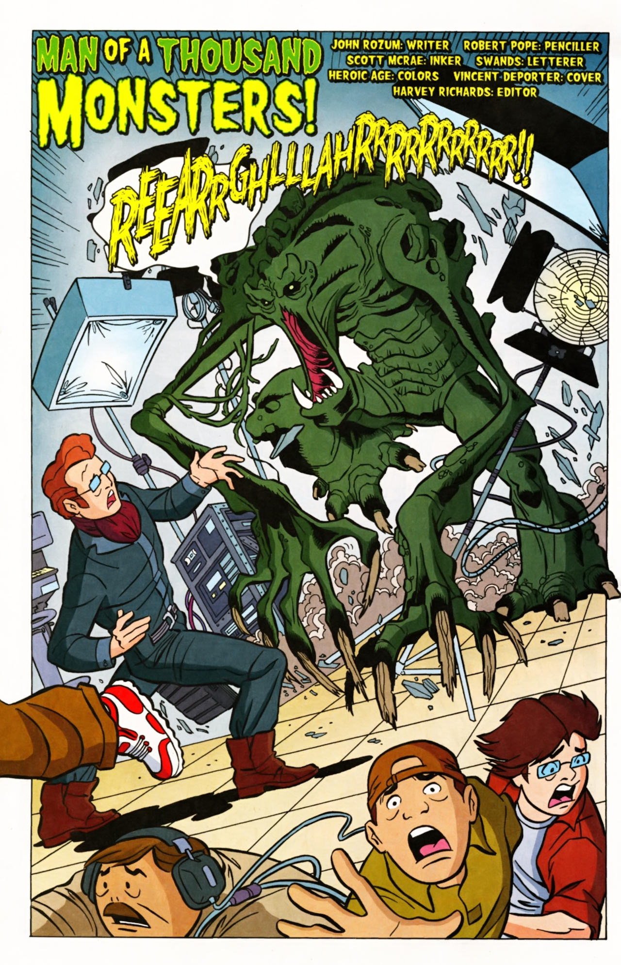 Read online Scooby-Doo (1997) comic -  Issue #145 - 3