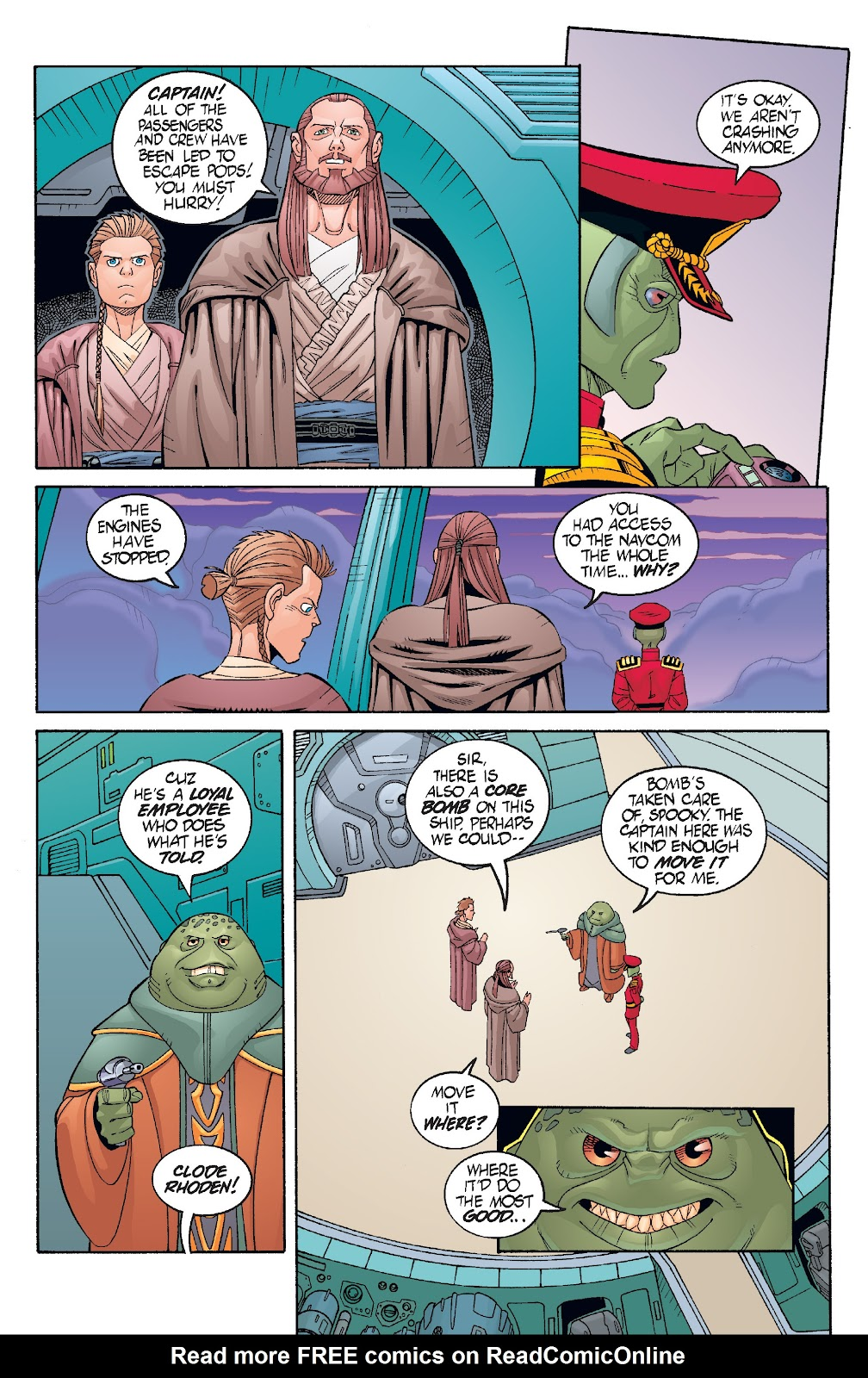 Read online Star Wars Legends: Rise of the Sith - Epic Collection comic -  Issue # TPB 1 (Part 3) - 62