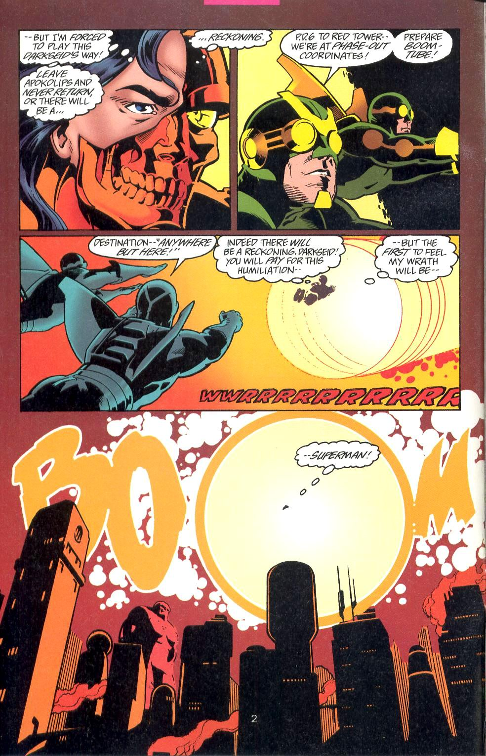 Read online Adventures of Superman (1987) comic -  Issue #527 - 3