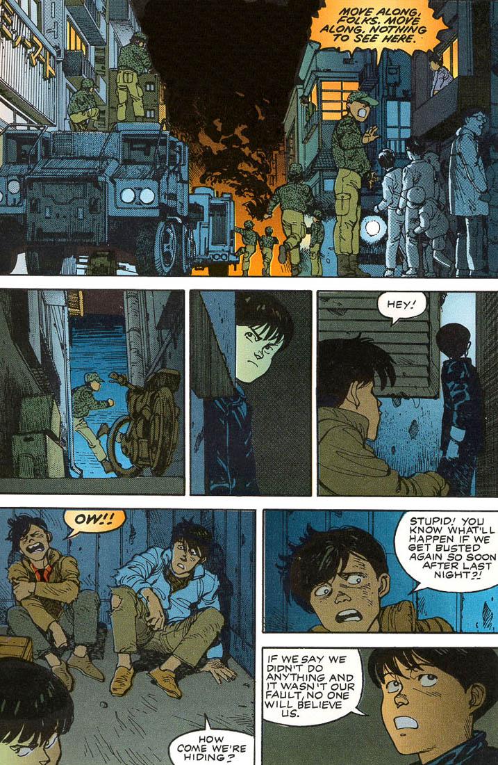 Read online Akira comic -  Issue #1 - 51