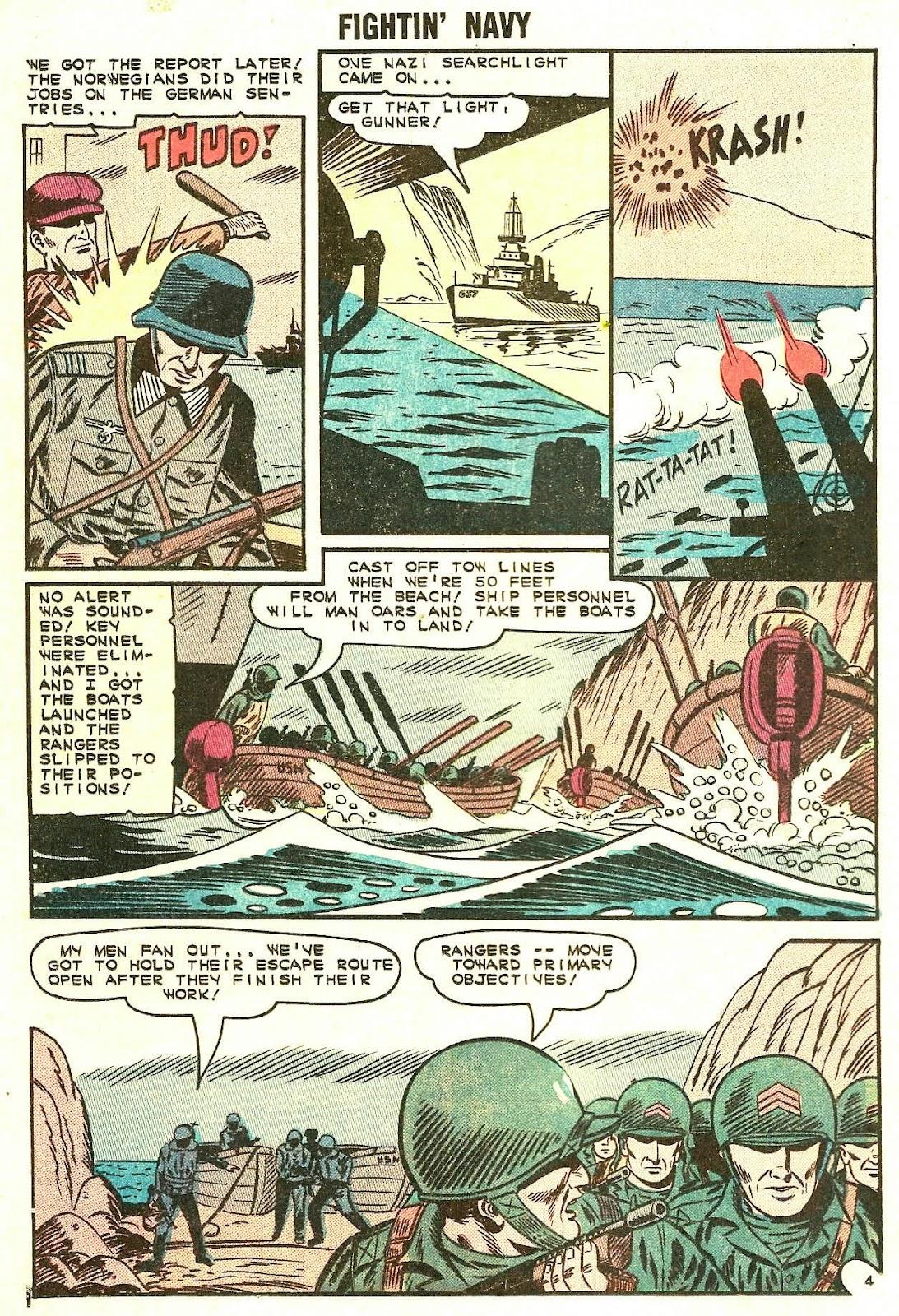 Read online Fightin' Navy comic -  Issue #119 - 16