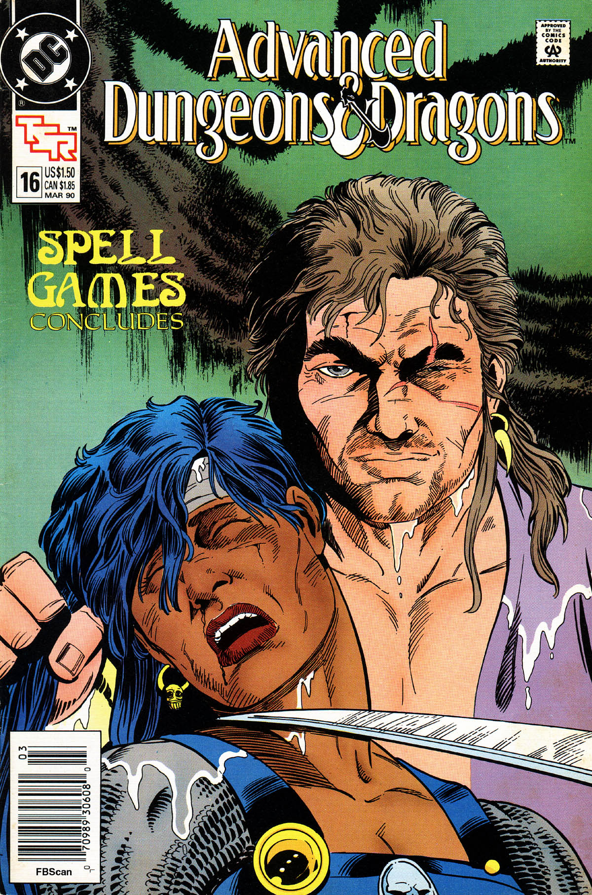 Read online Advanced Dungeons & Dragons comic -  Issue #16 - 1