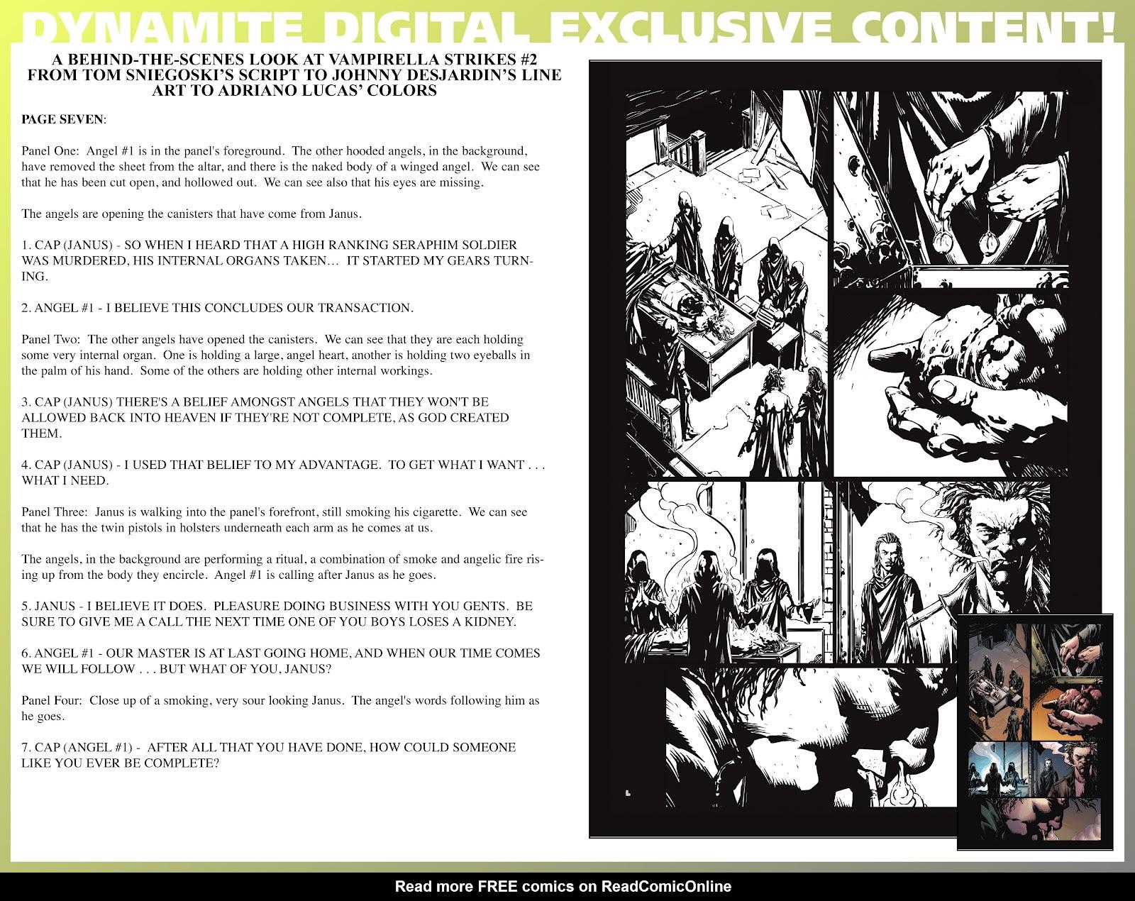 Read online Vampirella Strikes comic -  Issue #2 - 29