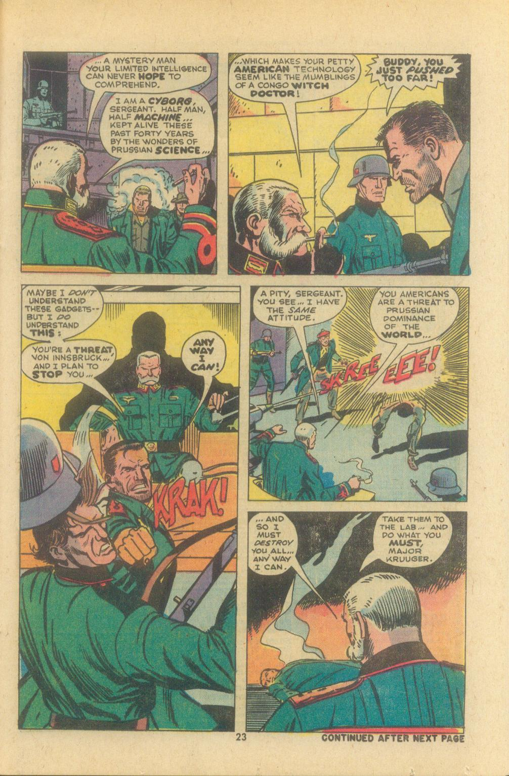 Read online Sgt. Fury comic -  Issue #119 - 25