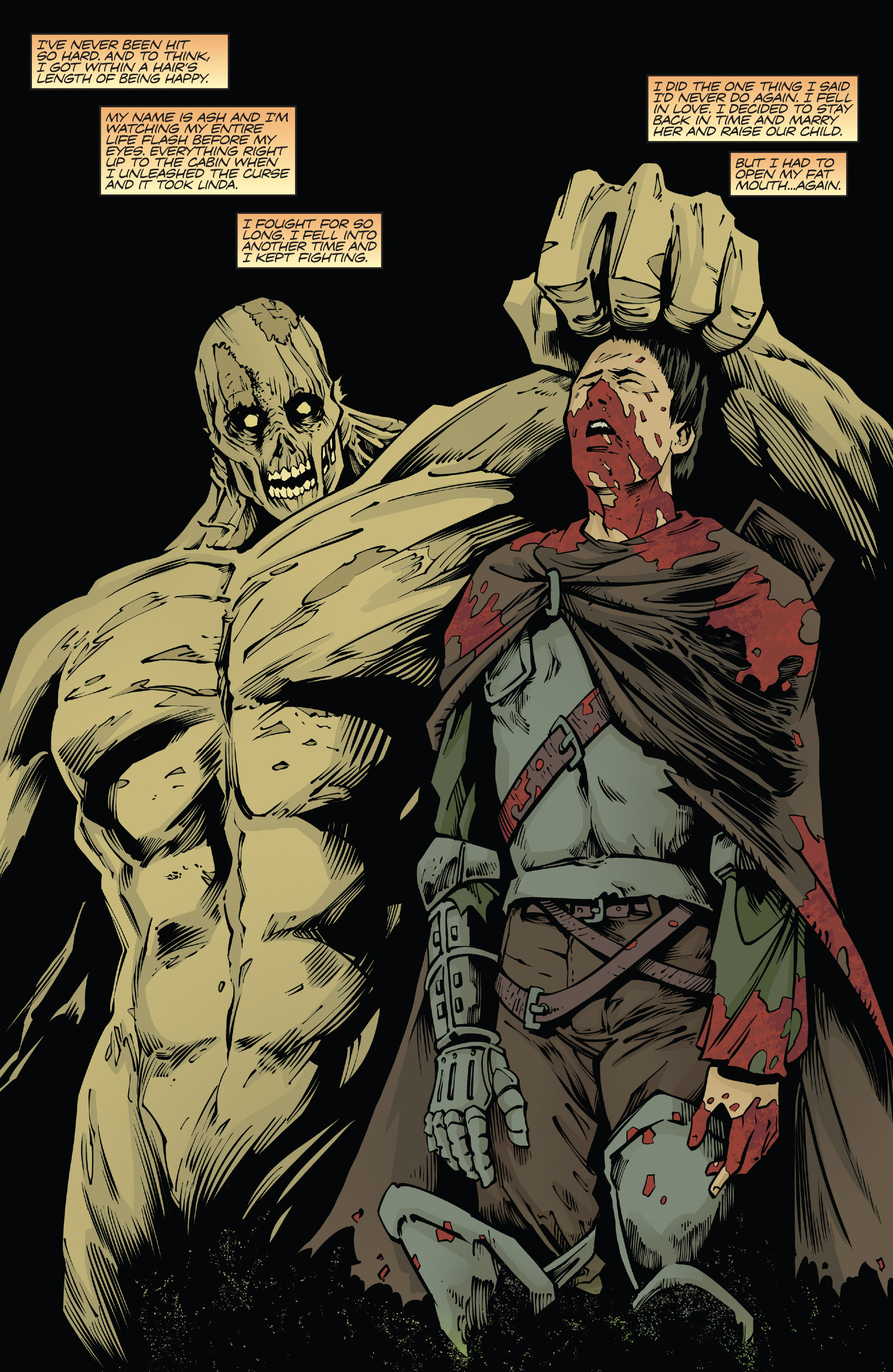 Read online Army of Darkness: Ash Gets Hitched comic -  Issue #4 - 4