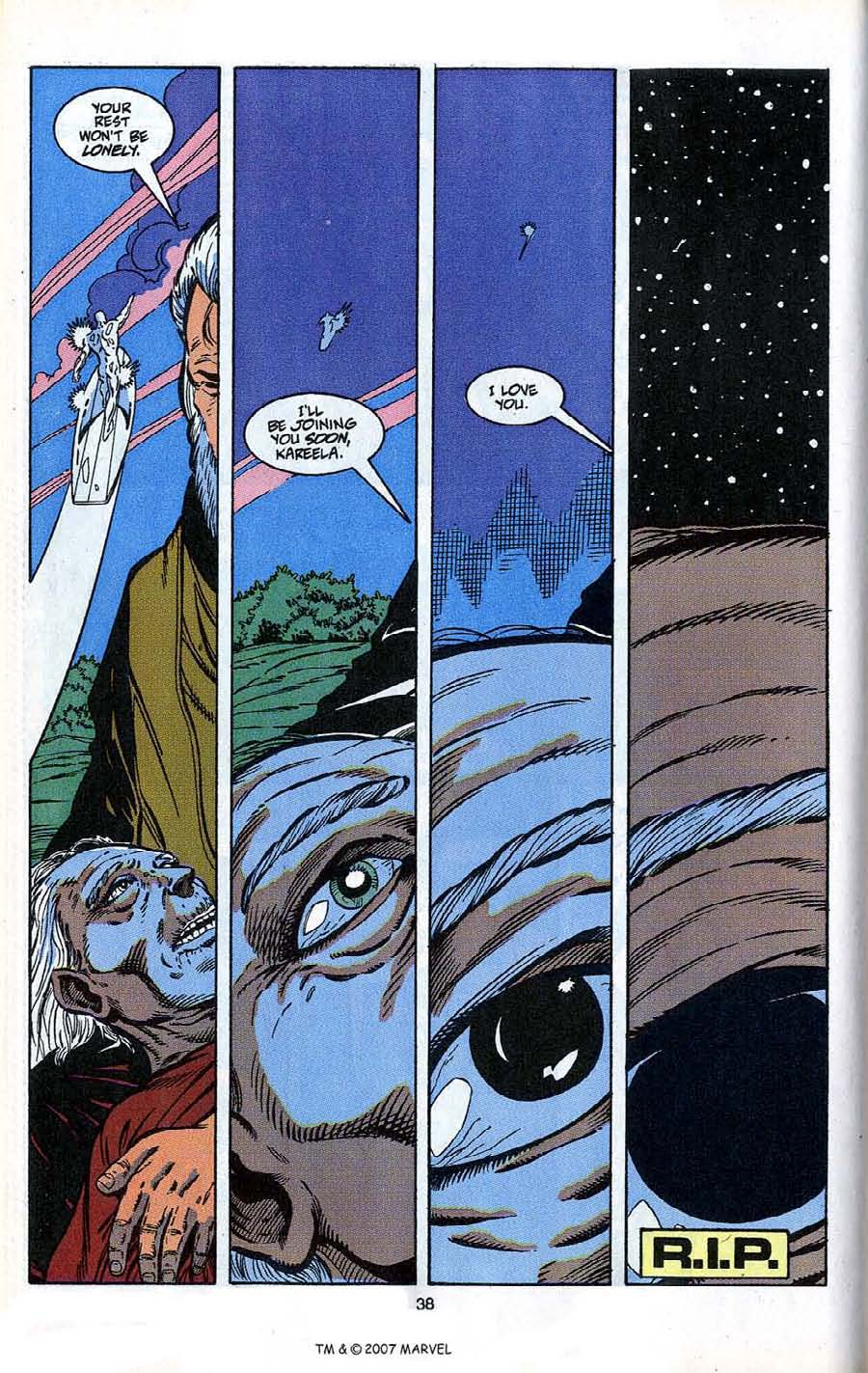 Read online Silver Surfer (1987) comic -  Issue # _Annual 4 - 40