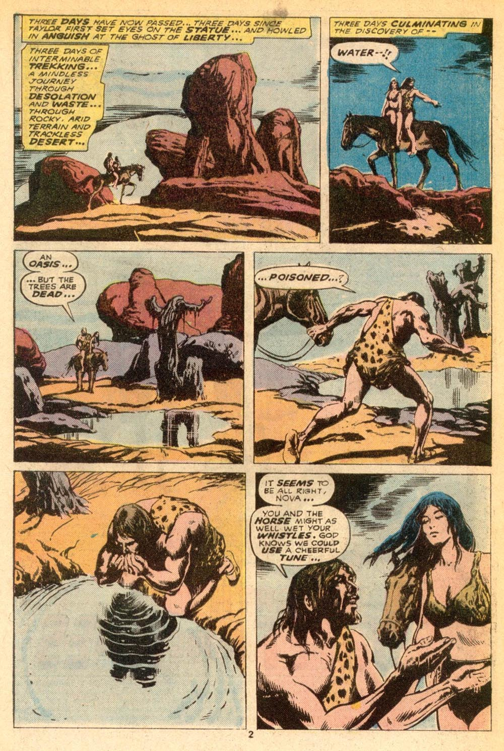 Read online Adventures on the Planet of the Apes comic -  Issue #7 - 3