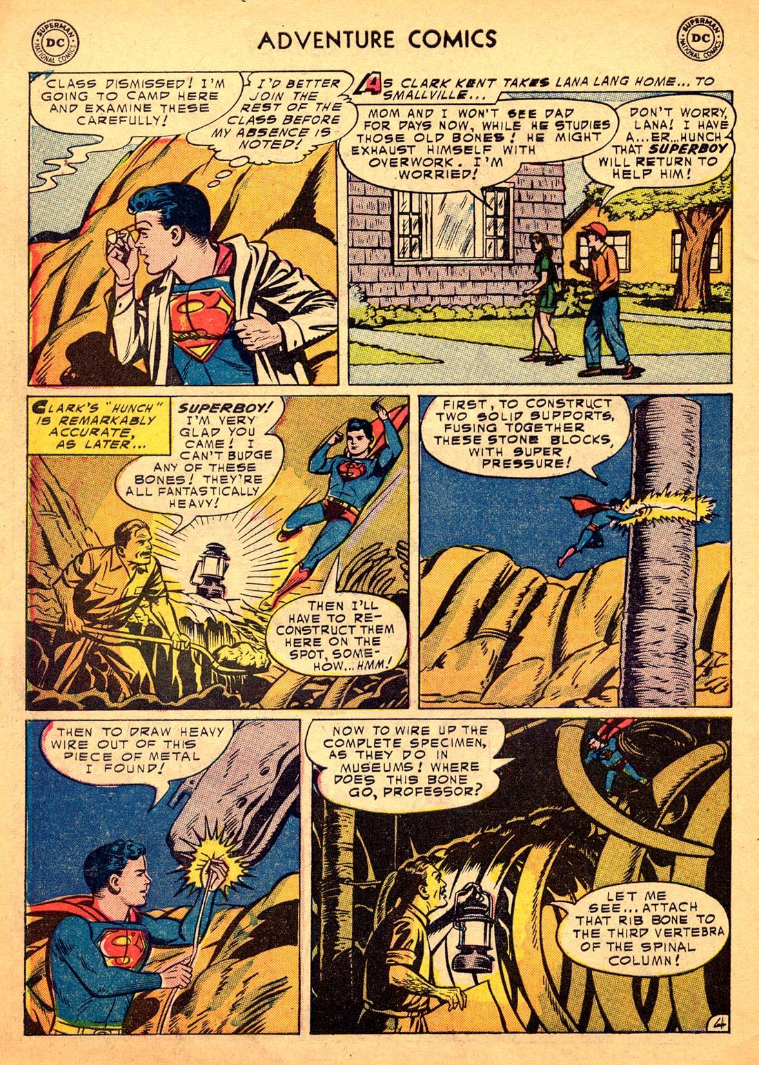 Read online Adventure Comics (1938) comic -  Issue #206 - 6