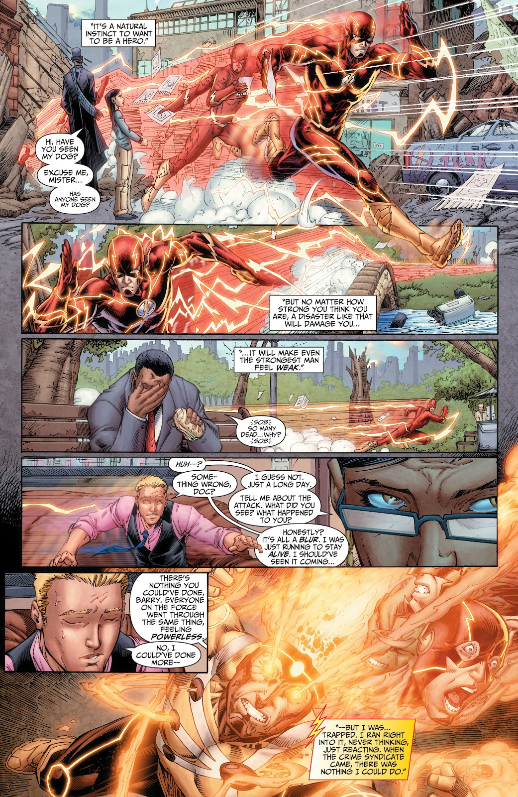 Read online The Flash (2011) comic -  Issue # _TPB 6 (Part 1) - 12