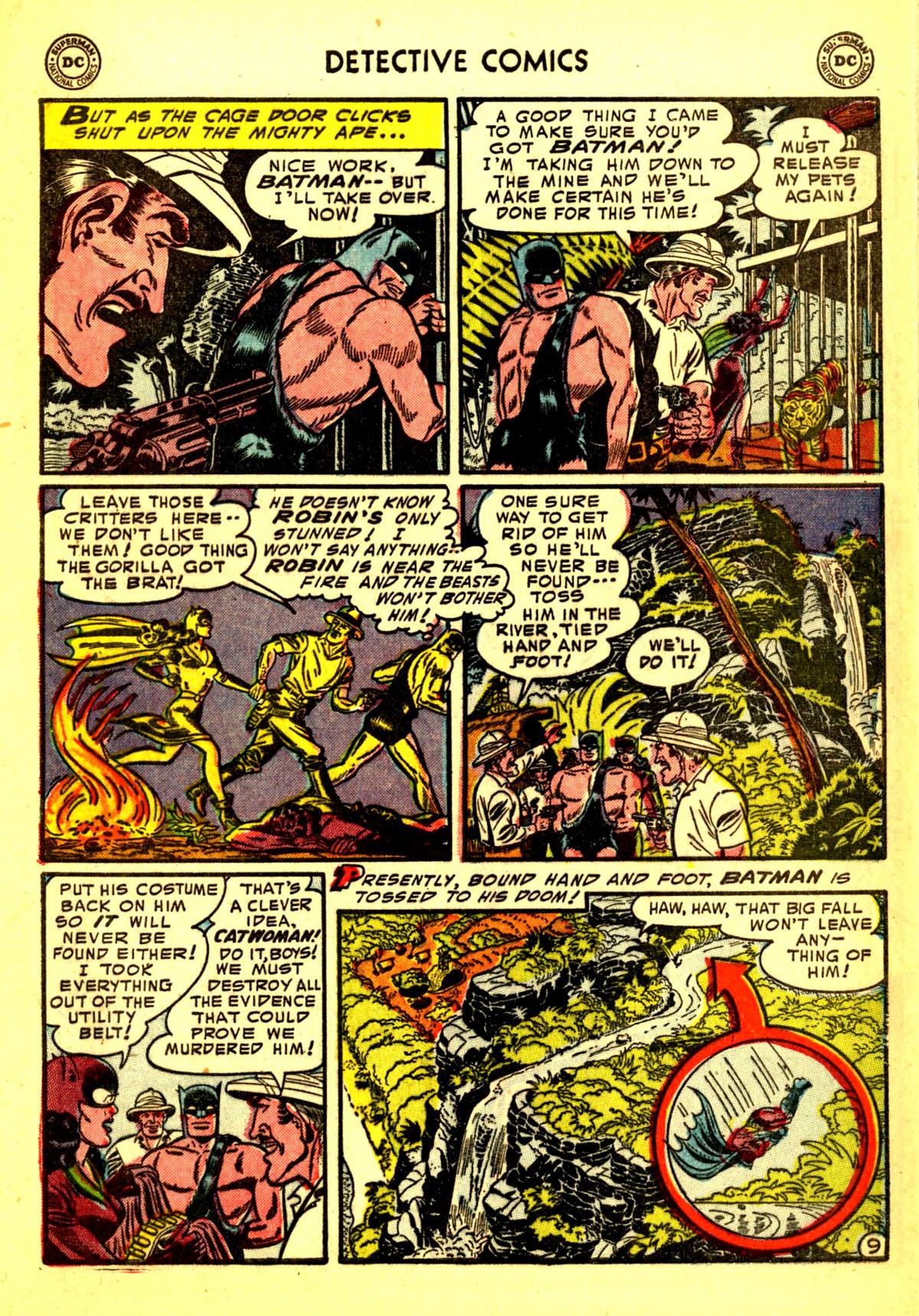 Read online Detective Comics (1937) comic -  Issue #211 - 11