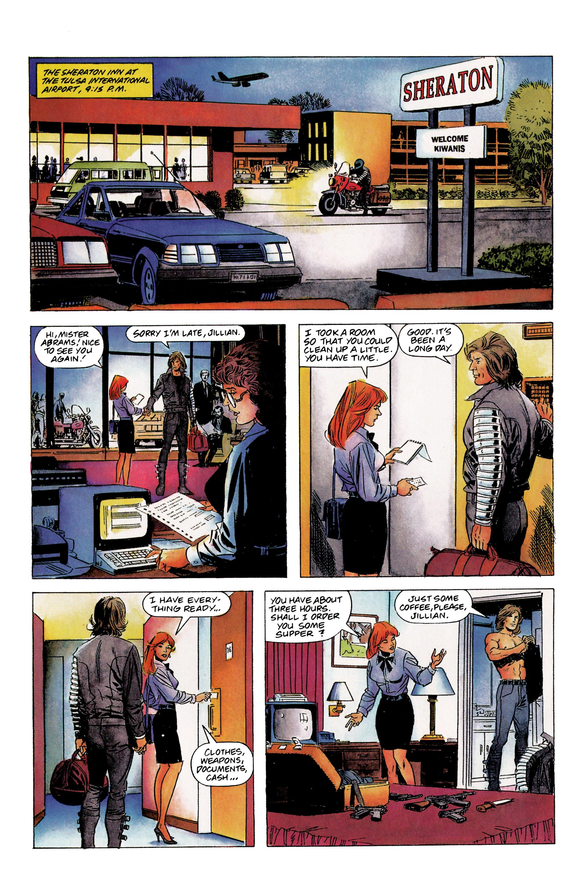 Read online Eternal Warrior (1992) comic -  Issue #1 - 23
