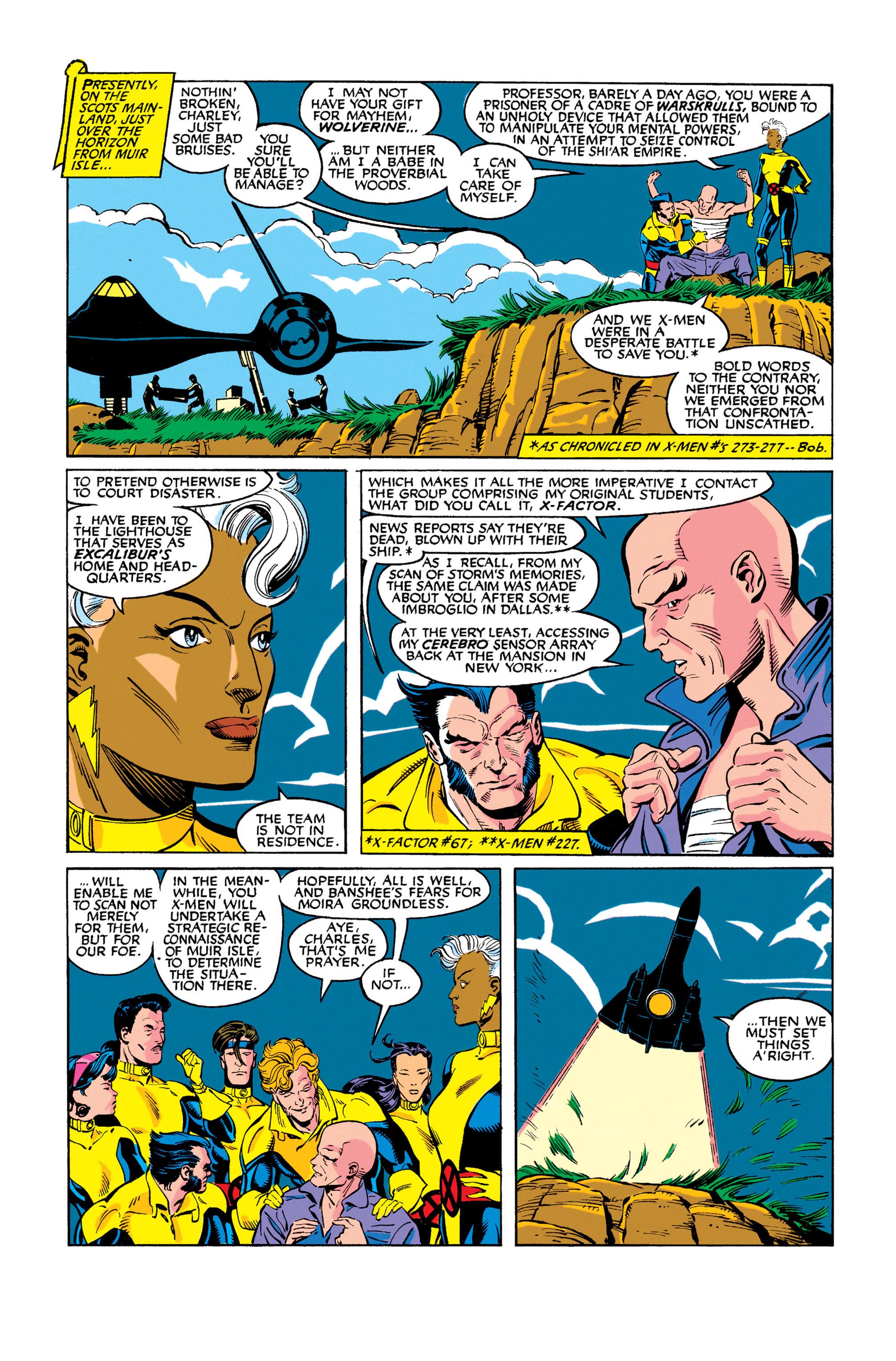 Read online Uncanny X-Men (1963) comic -  Issue #278 - 13