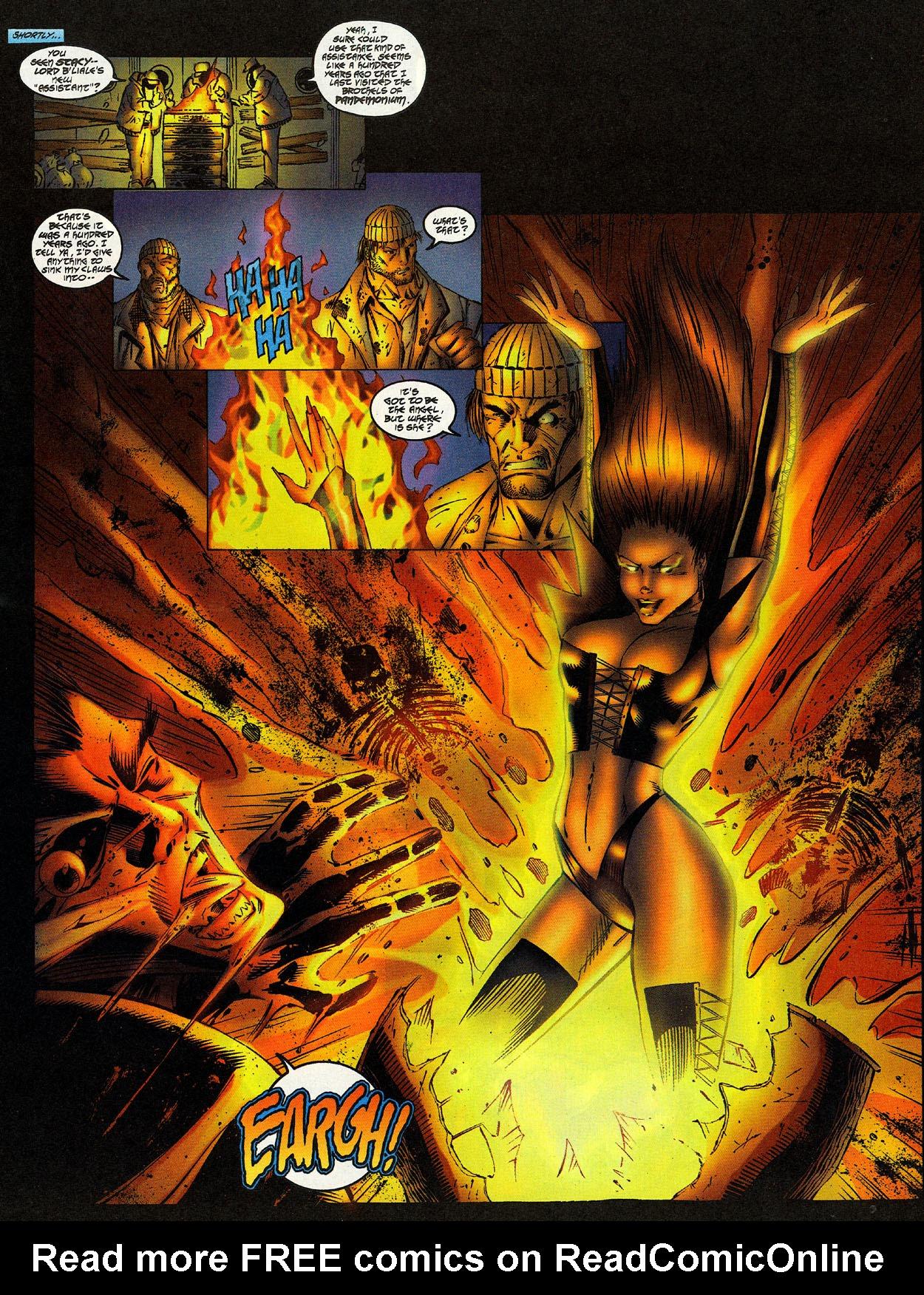 Read online Avengelyne (1996) comic -  Issue #12 - 11