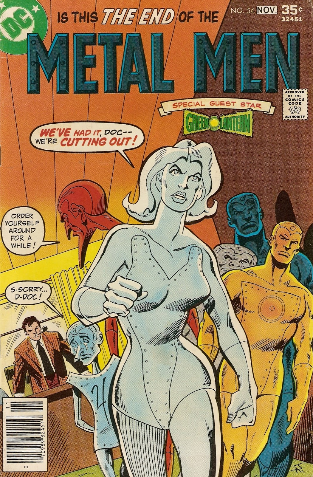 Metal Men (1963) issue 54 - Page 1