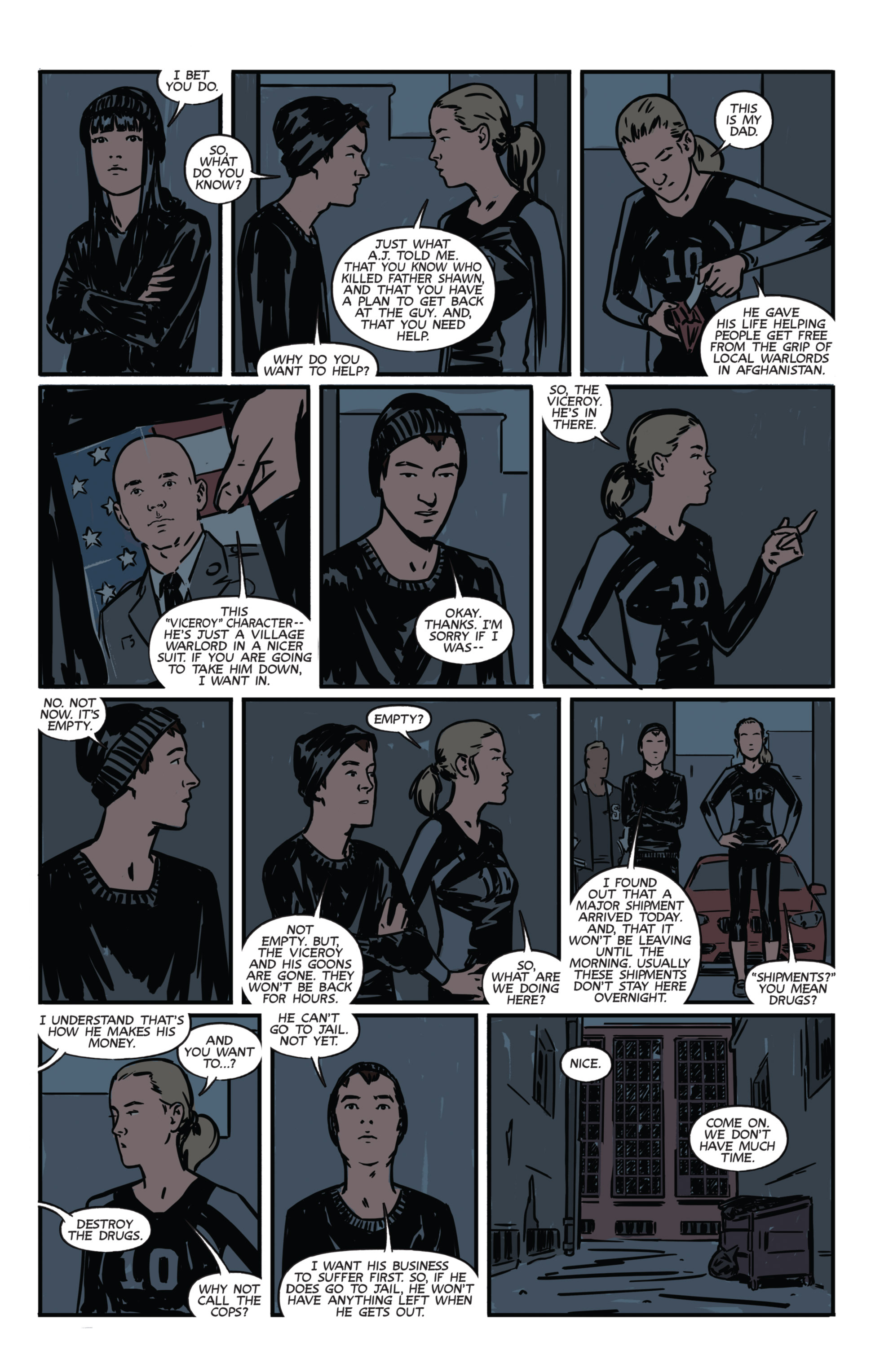 Read online Night Owl Society comic -  Issue #1 - 25