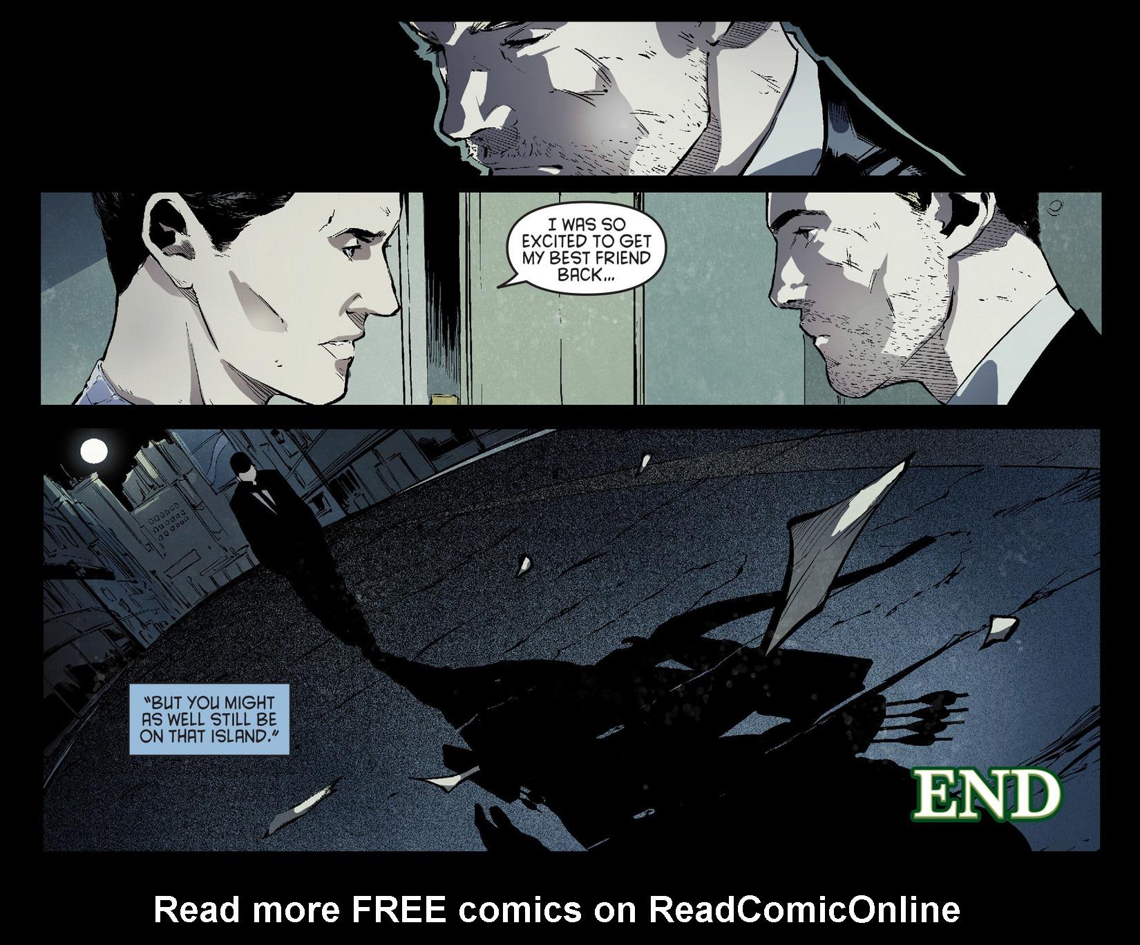 Read online Arrow [II] comic -  Issue #7 - 22