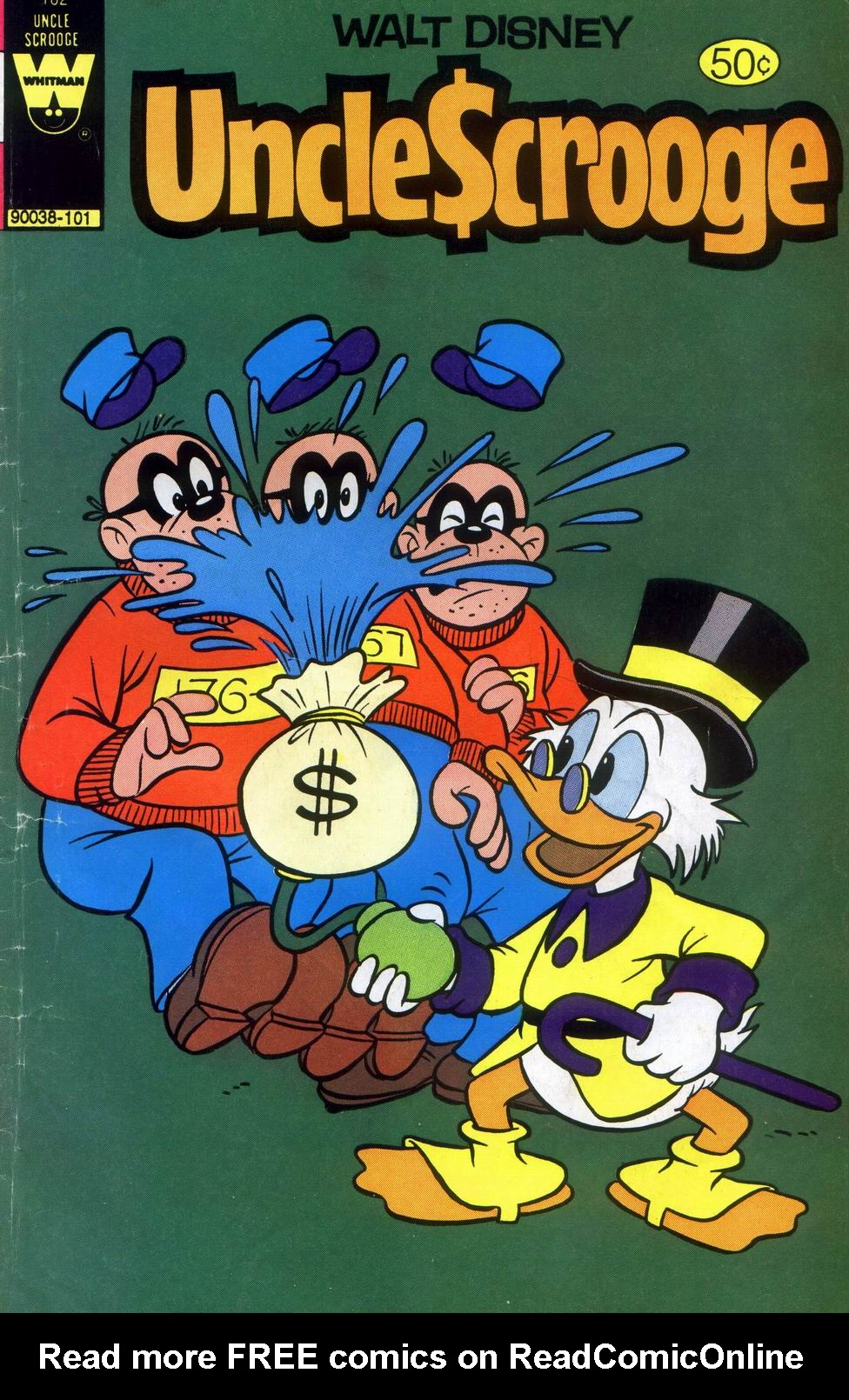 Read online Uncle Scrooge (1953) comic -  Issue #182 - 1