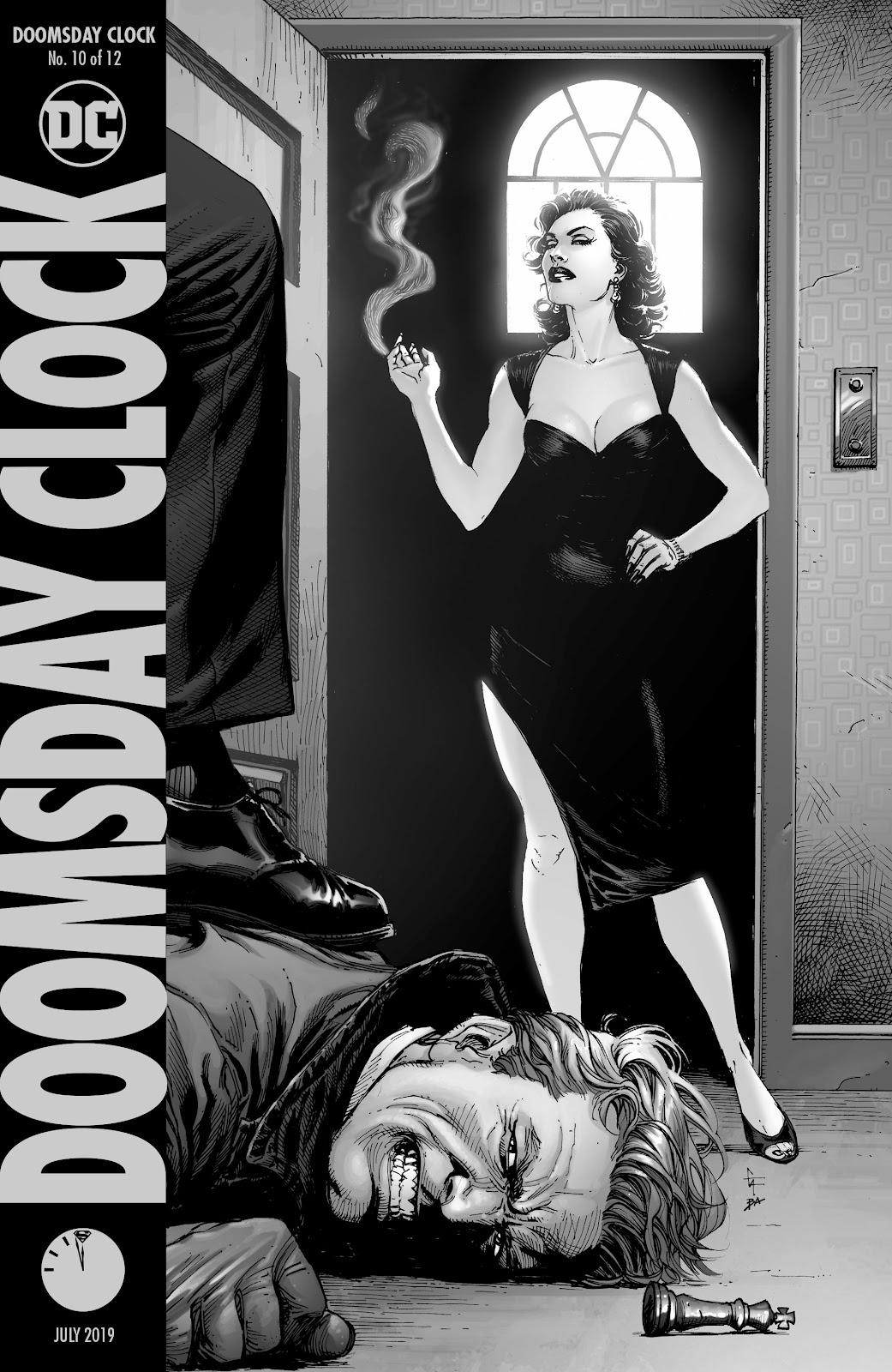 doomsday clock 12 read online