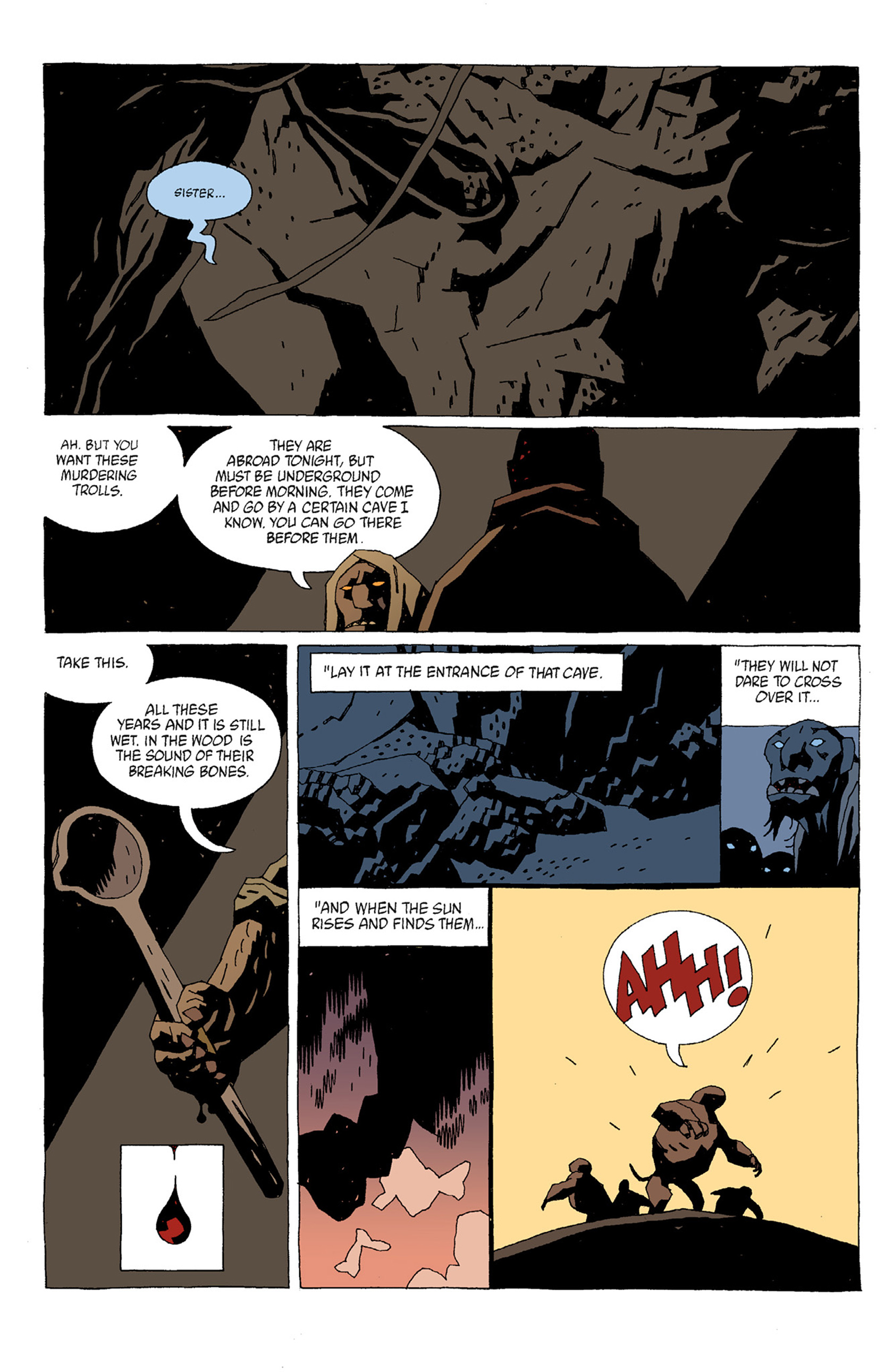 Read online Hellboy: The Troll Witch and Others comic -  Issue # TPB - 34