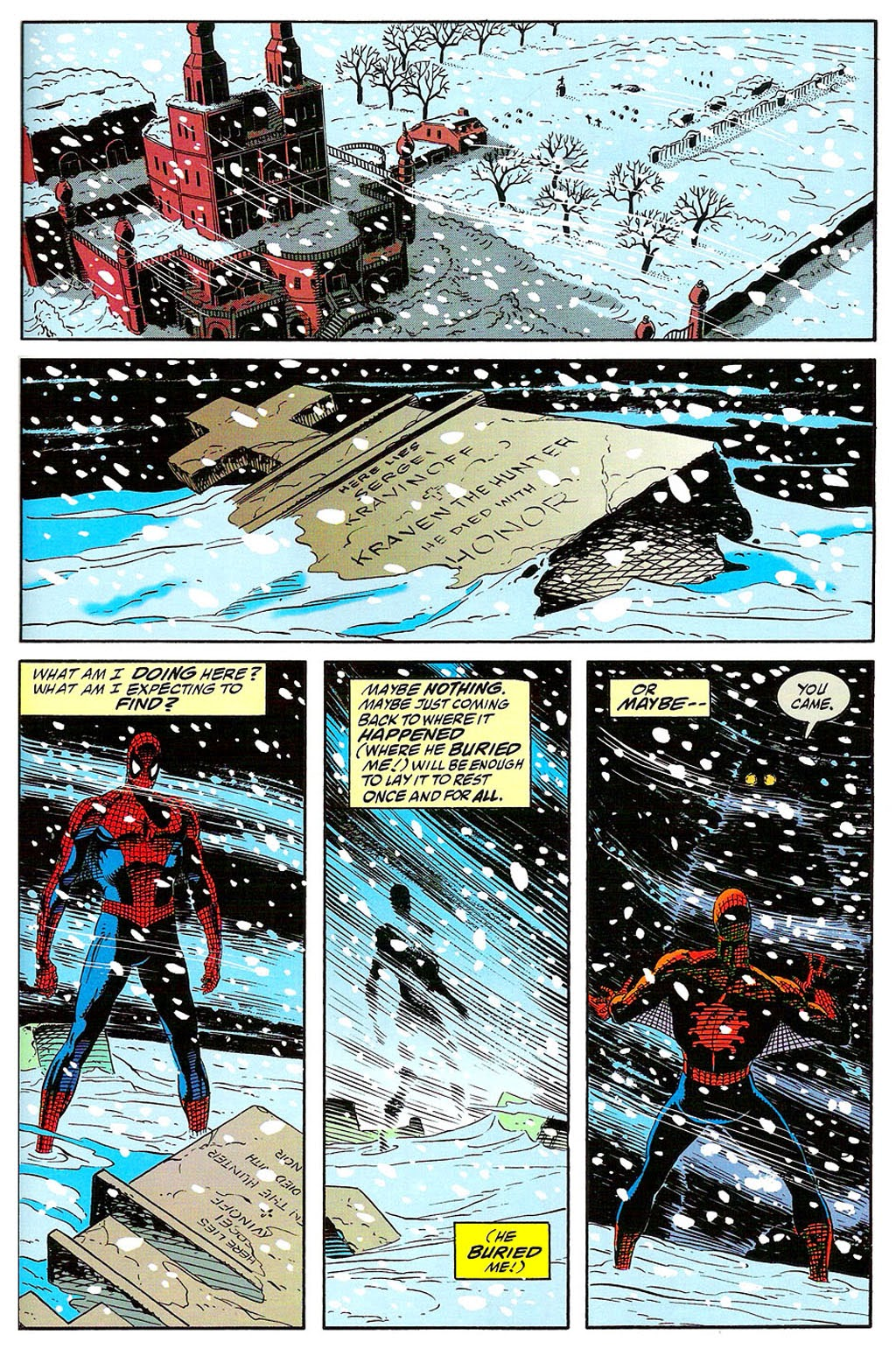 Read online The Amazing Spider-Man: Soul of the Hunter comic -  Issue # Full - 31