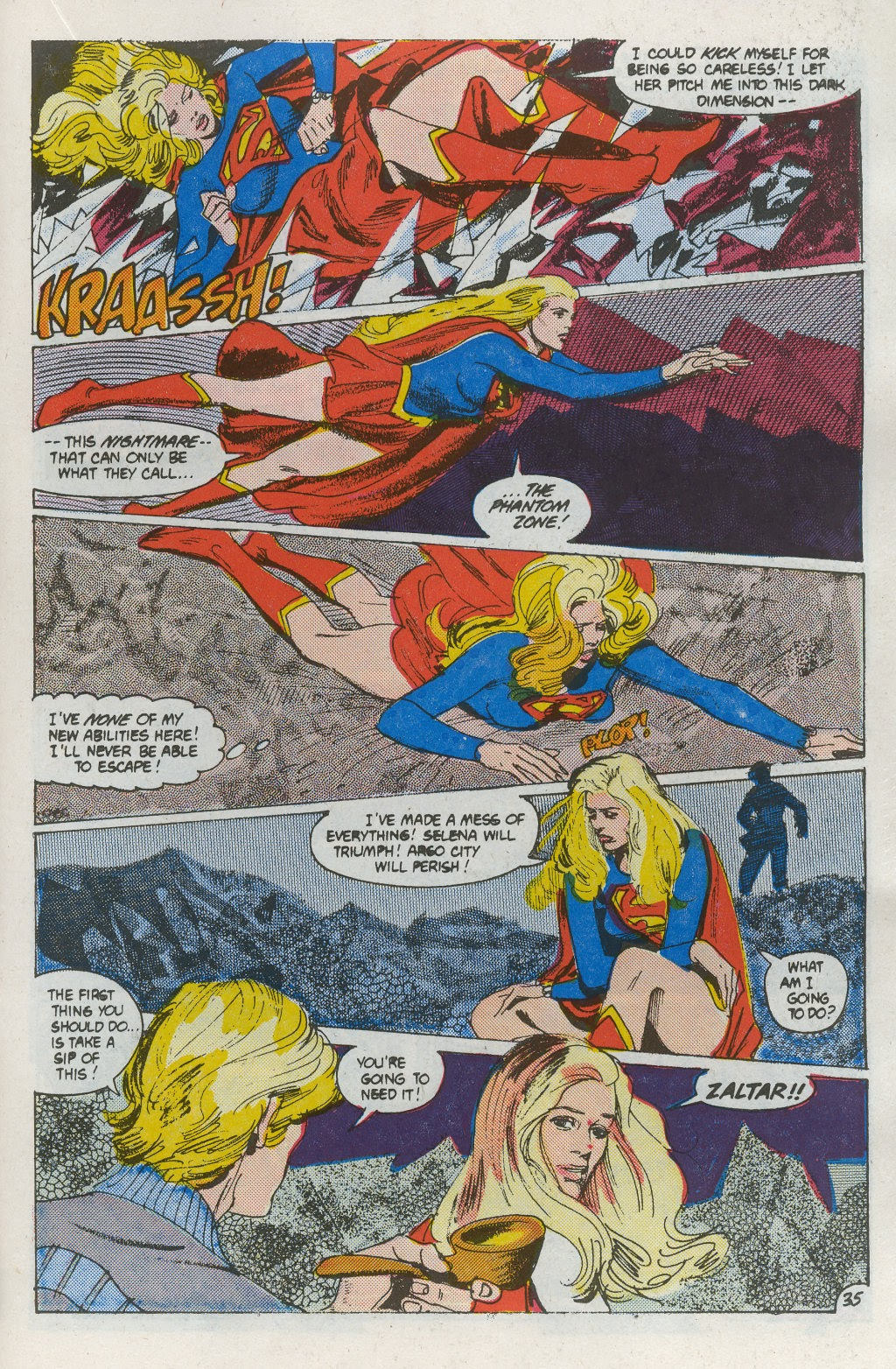 Read online Supergirl Movie Special comic -  Issue # Full - 37