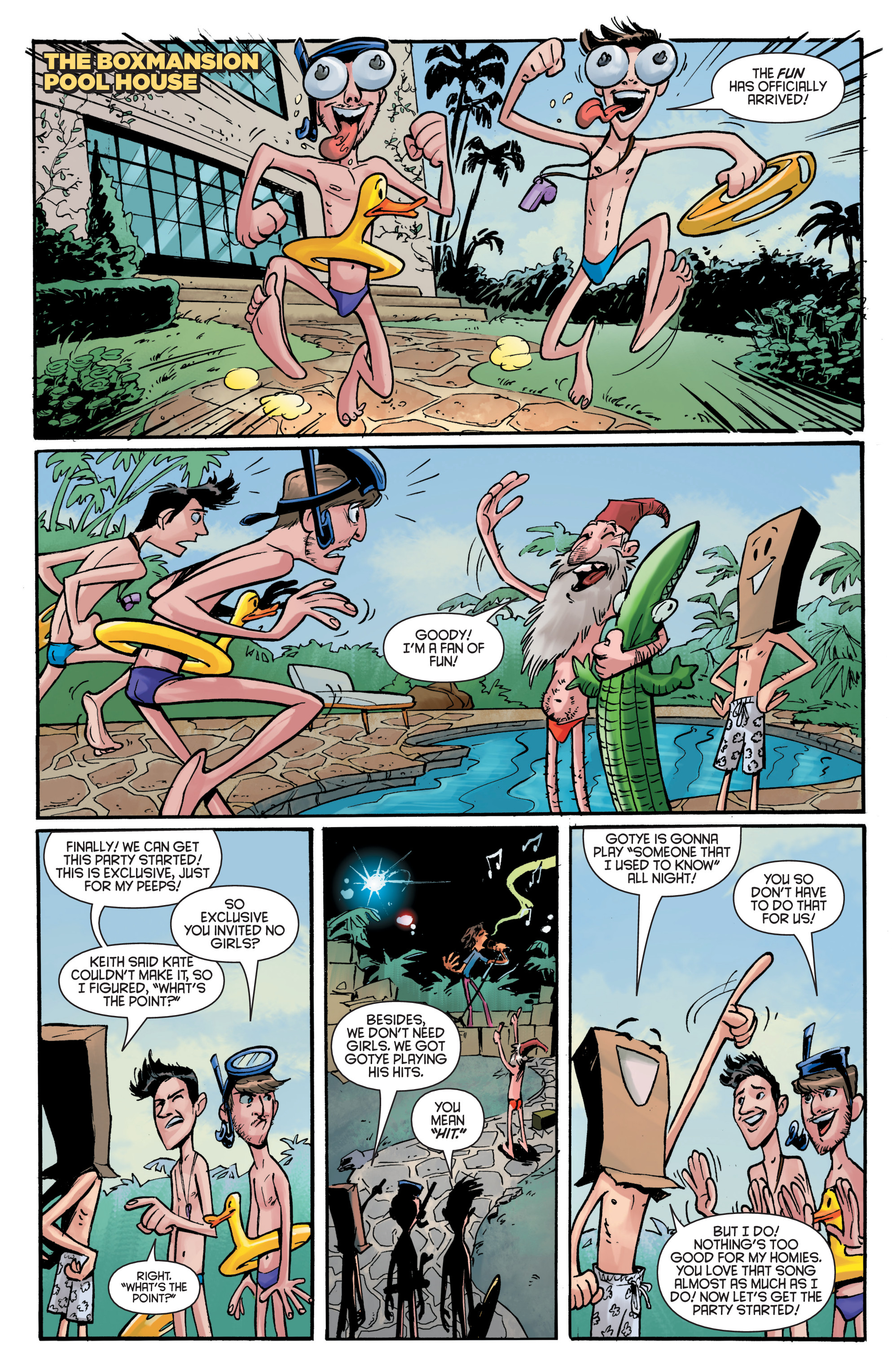 Read online Smosh comic -  Issue #5 - 8