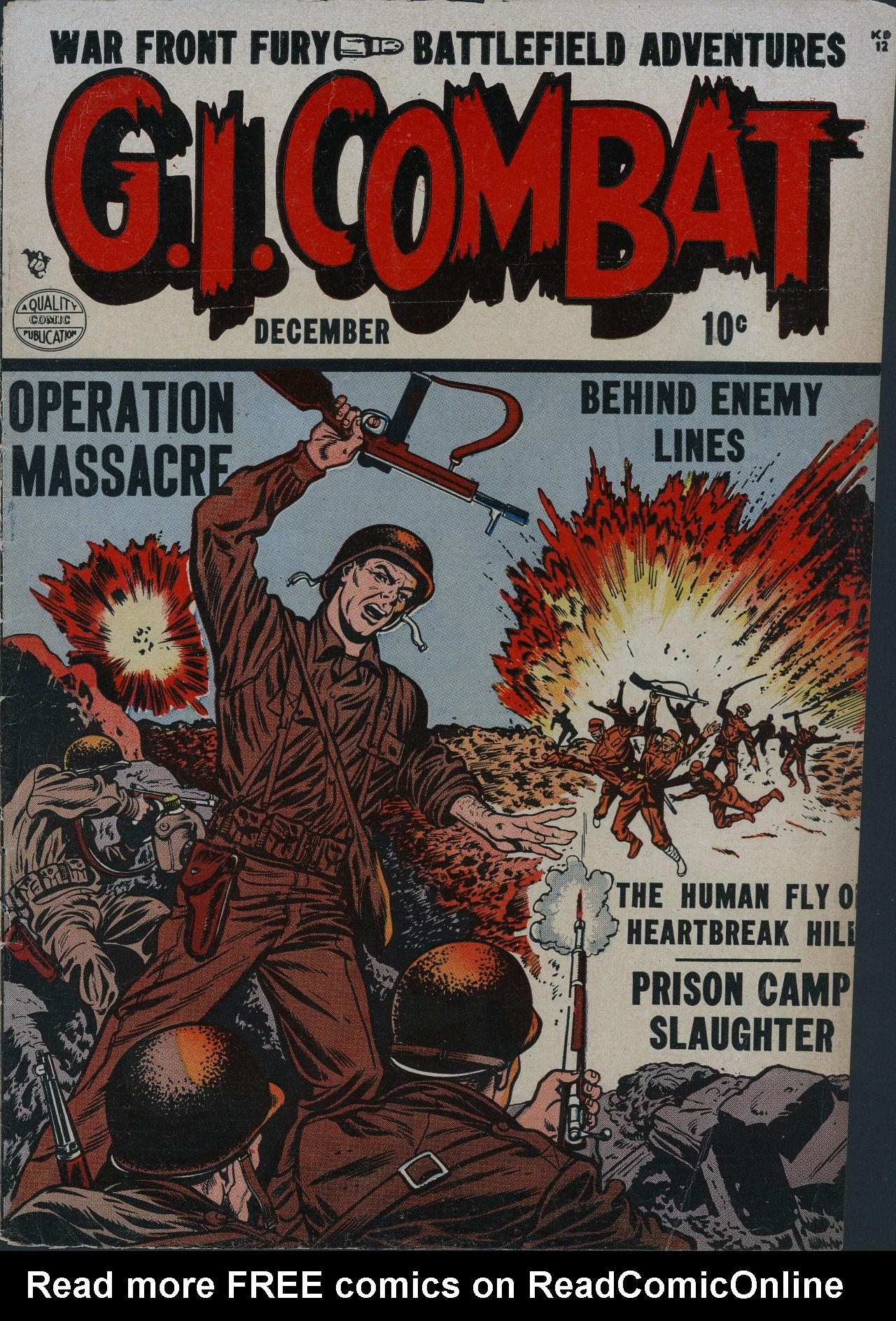 G.I. Combat (1952) 2 Page 1