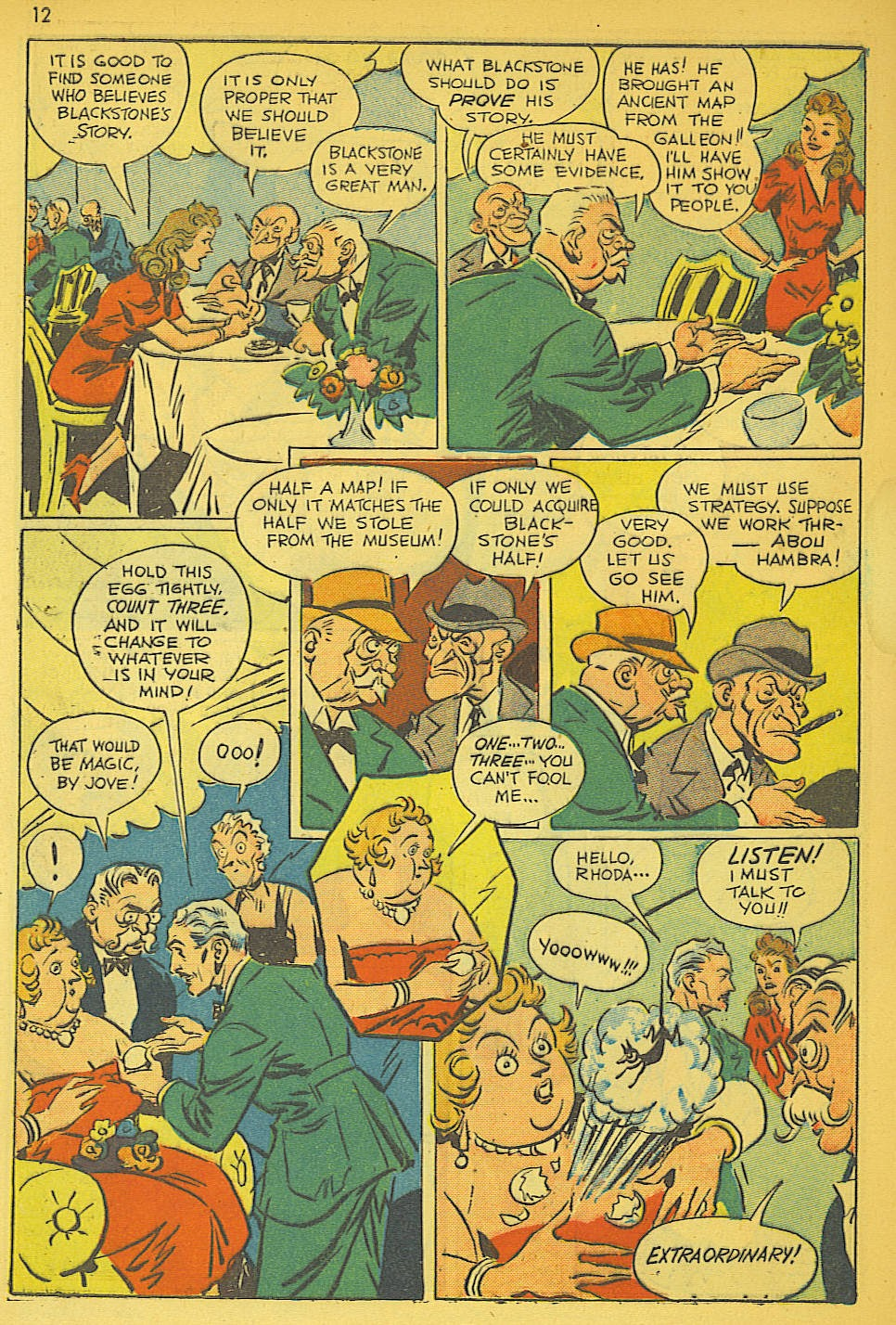 Read online Super-Magician Comics comic -  Issue #19 - 12