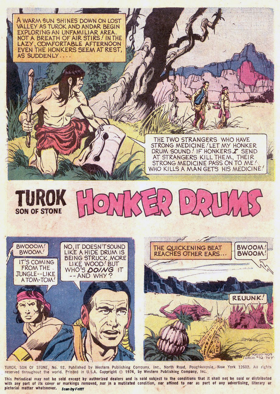 Read online Turok, Son of Stone comic -  Issue #92 - 3